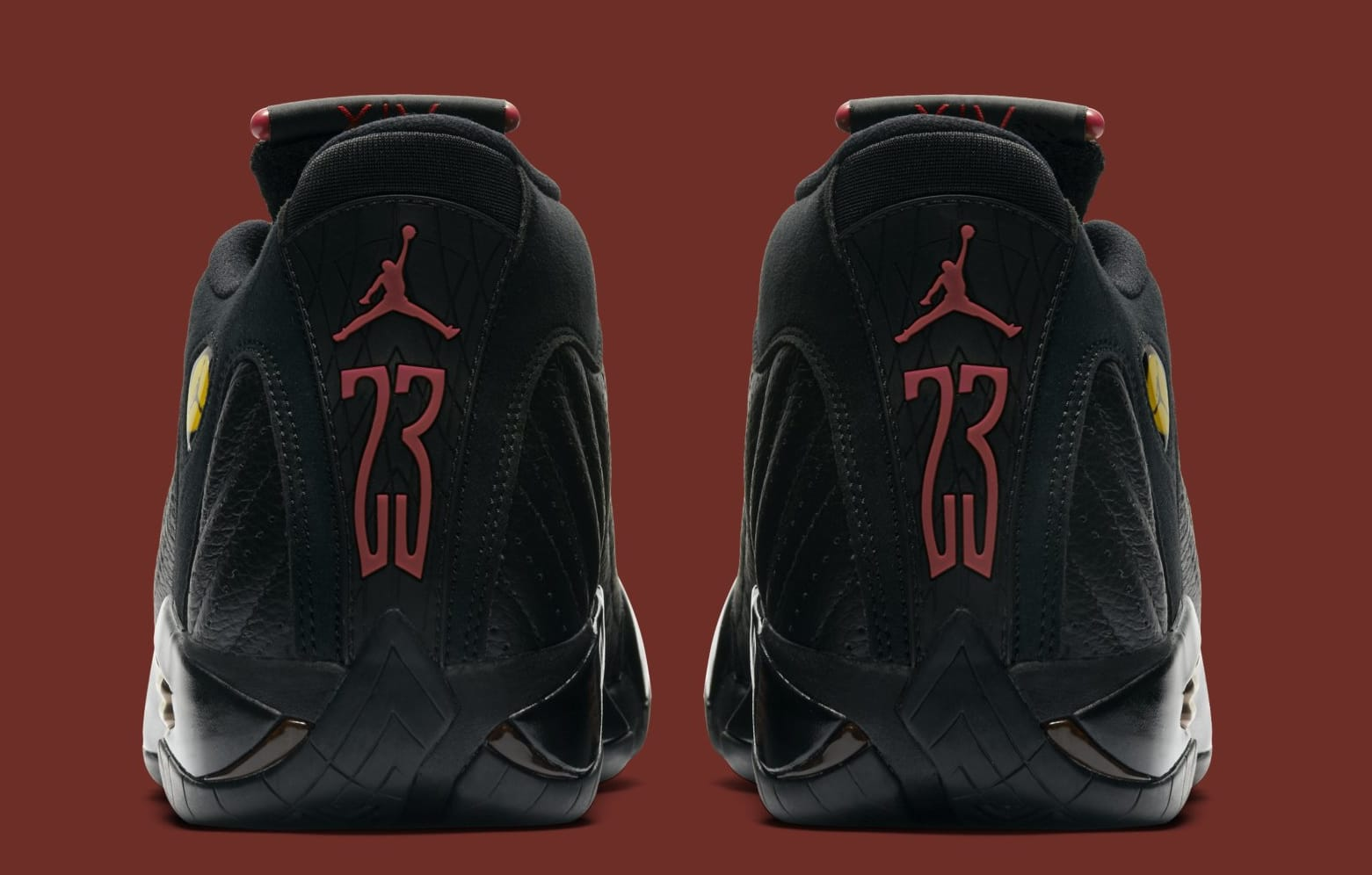 Air Jordan 14 Retro 'Last Shot' 487471-003 (Heel)