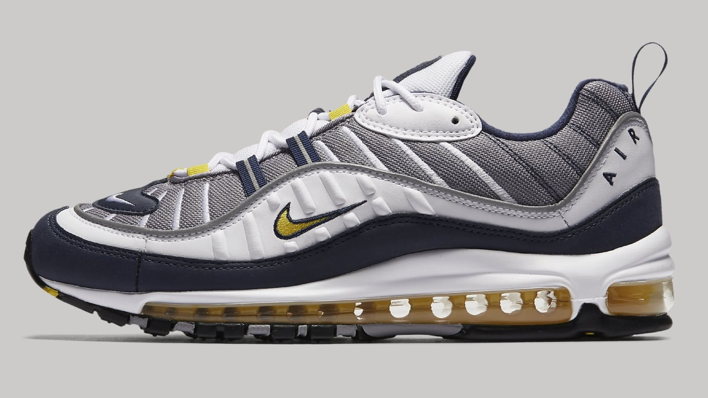 best loved f7495 08d4f Nike Air Max 98 'Tour Yellow' Releasing on Jan. 26 | Sole ...