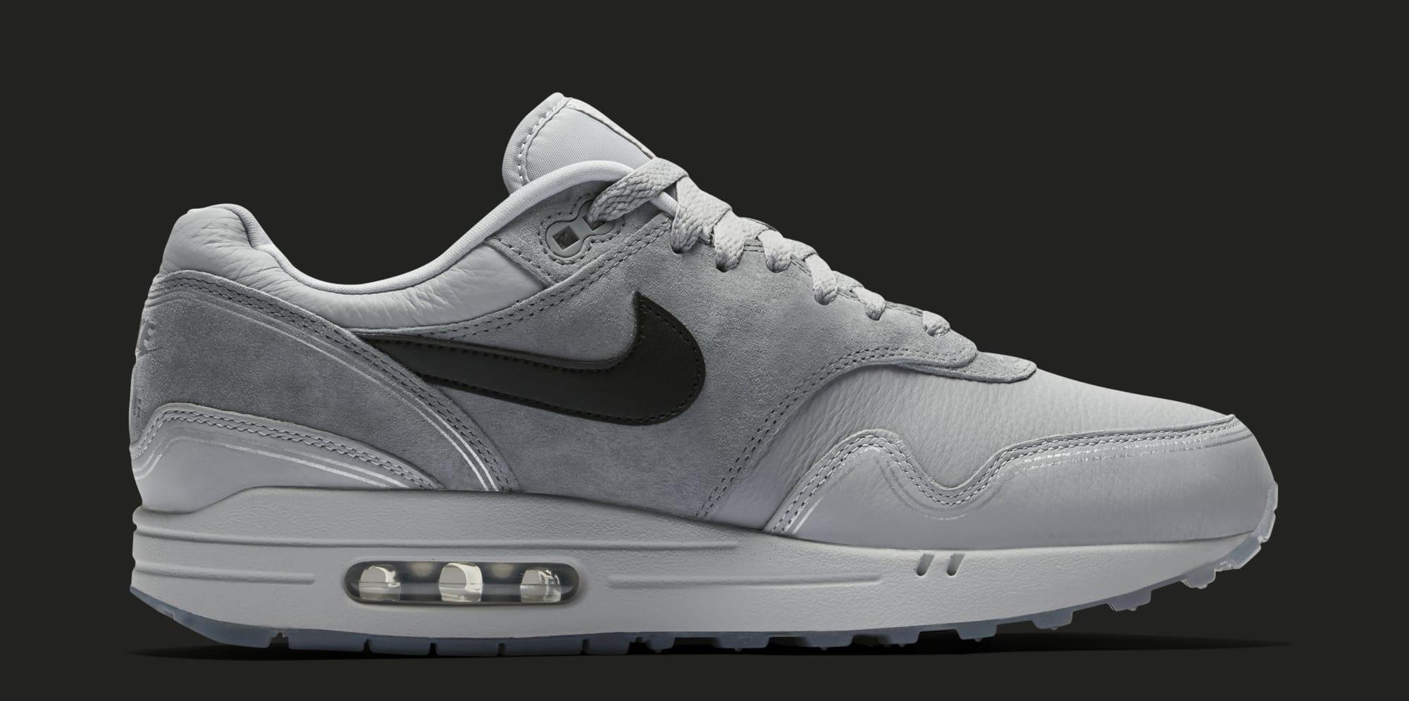 best service 85ade 53b06 Image via Nike Nike Air Max 1  Centre Pompidou  Wolf Grey AV3735-001  (Medial)