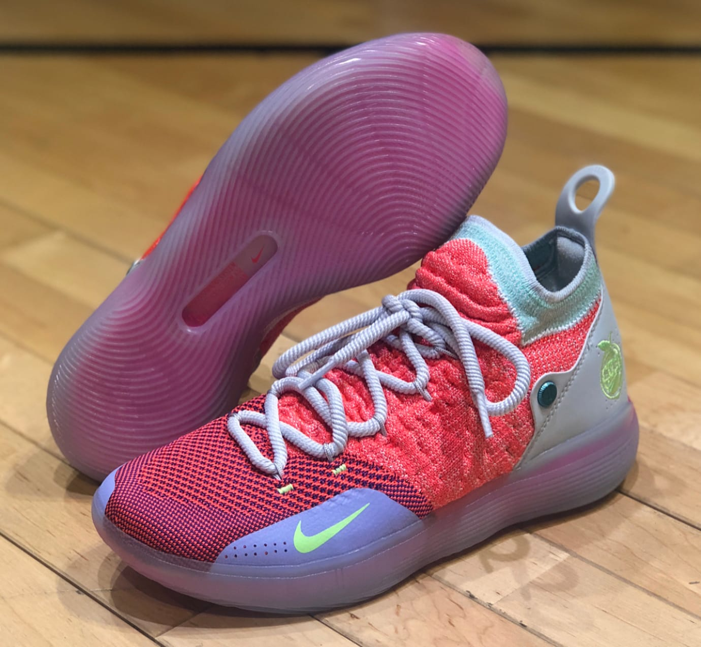 01c5e542fbf1 Image via  hoopcity dongdaemun · Nike KD 11  EYBL  GS (Lateral and Outsole)