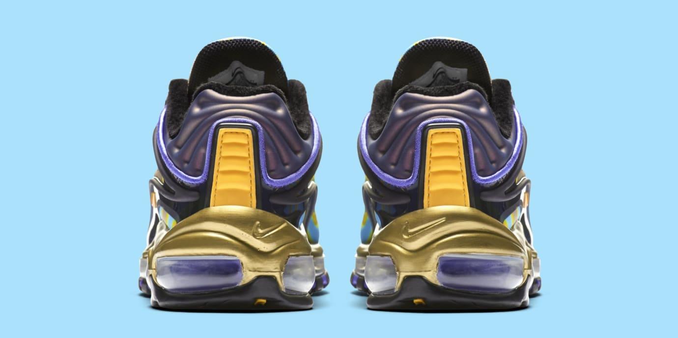 Nike Air Max Deluxe 'Midnight Navy/Laser Orange' AQ1272-400 (Heel)