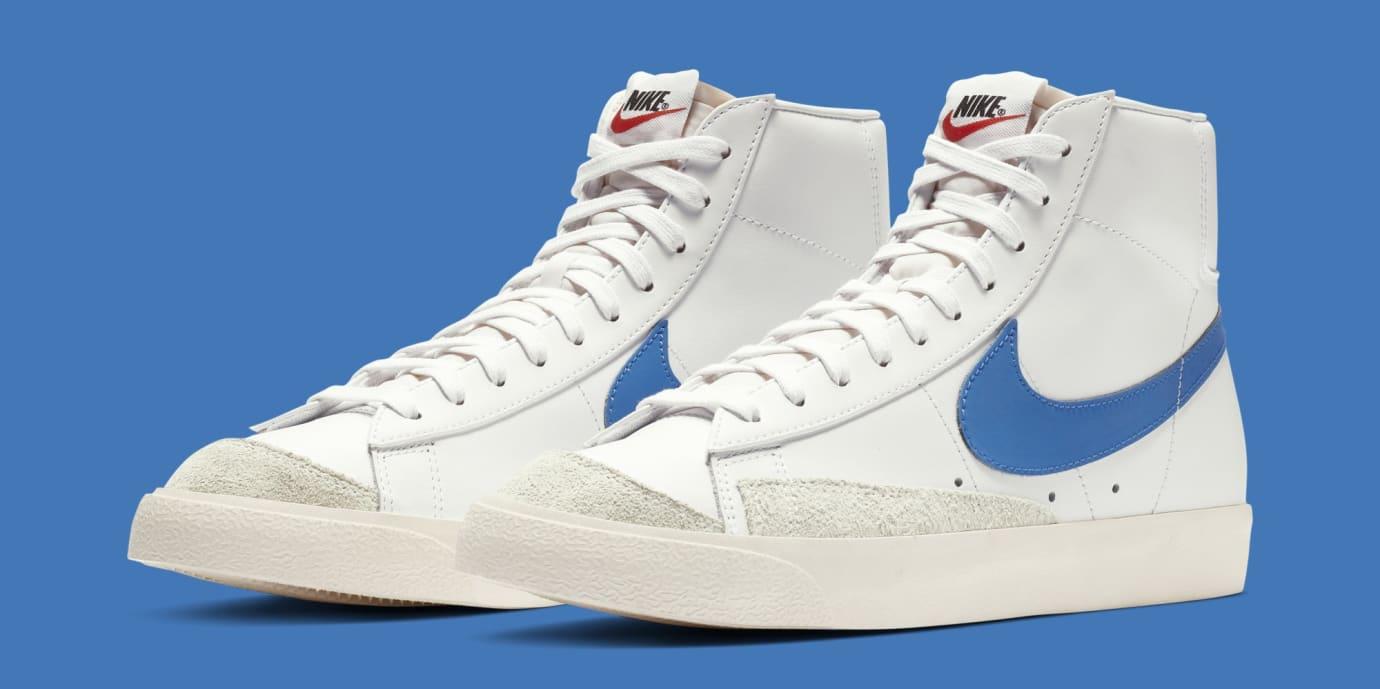 Nike Blazer Mid '77 'Pacific Blue' BQ6806-400 (Pair)