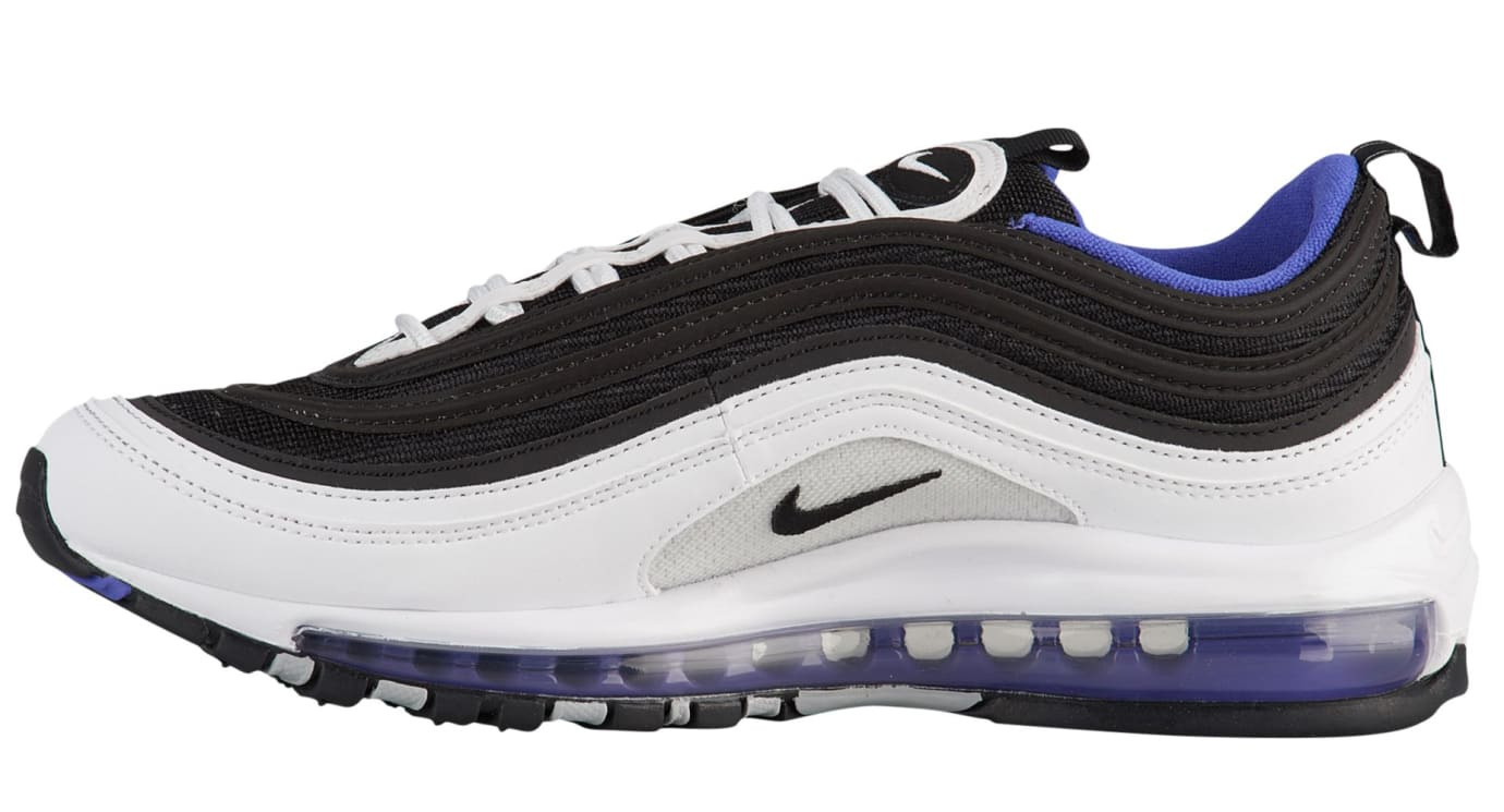 Nike Air Max 97 'White/Black/Persian Violet' 921826-103 (Medial)