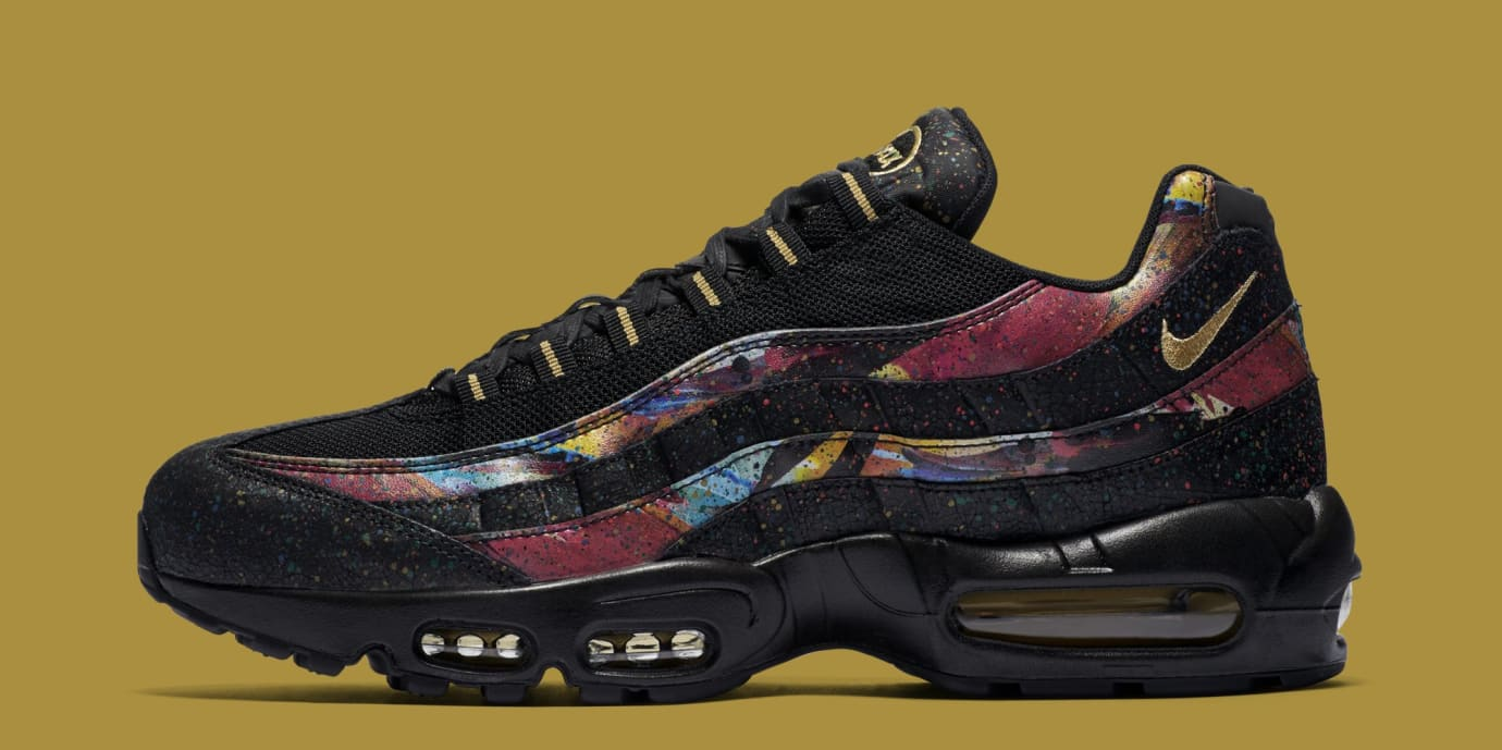 90b973a287f1 Image via Nike Nike Air Max 95  Caribana  AT6141-001 (Lateral)