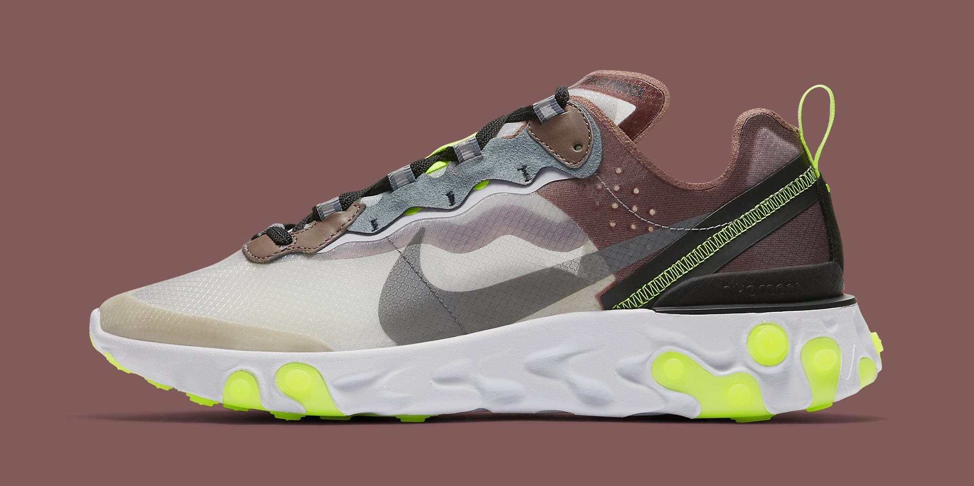 Nike React Element 87 Dark Sand AQ1090 002