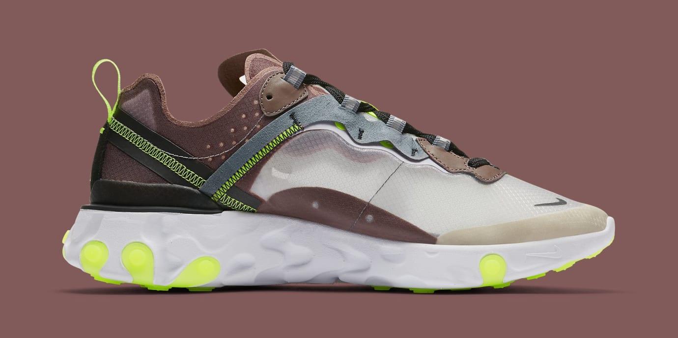 1d3852002c6 Nike React Element 87 'Desert Sand' AQ1090-002 'Dark Grey' AQ1090 ...