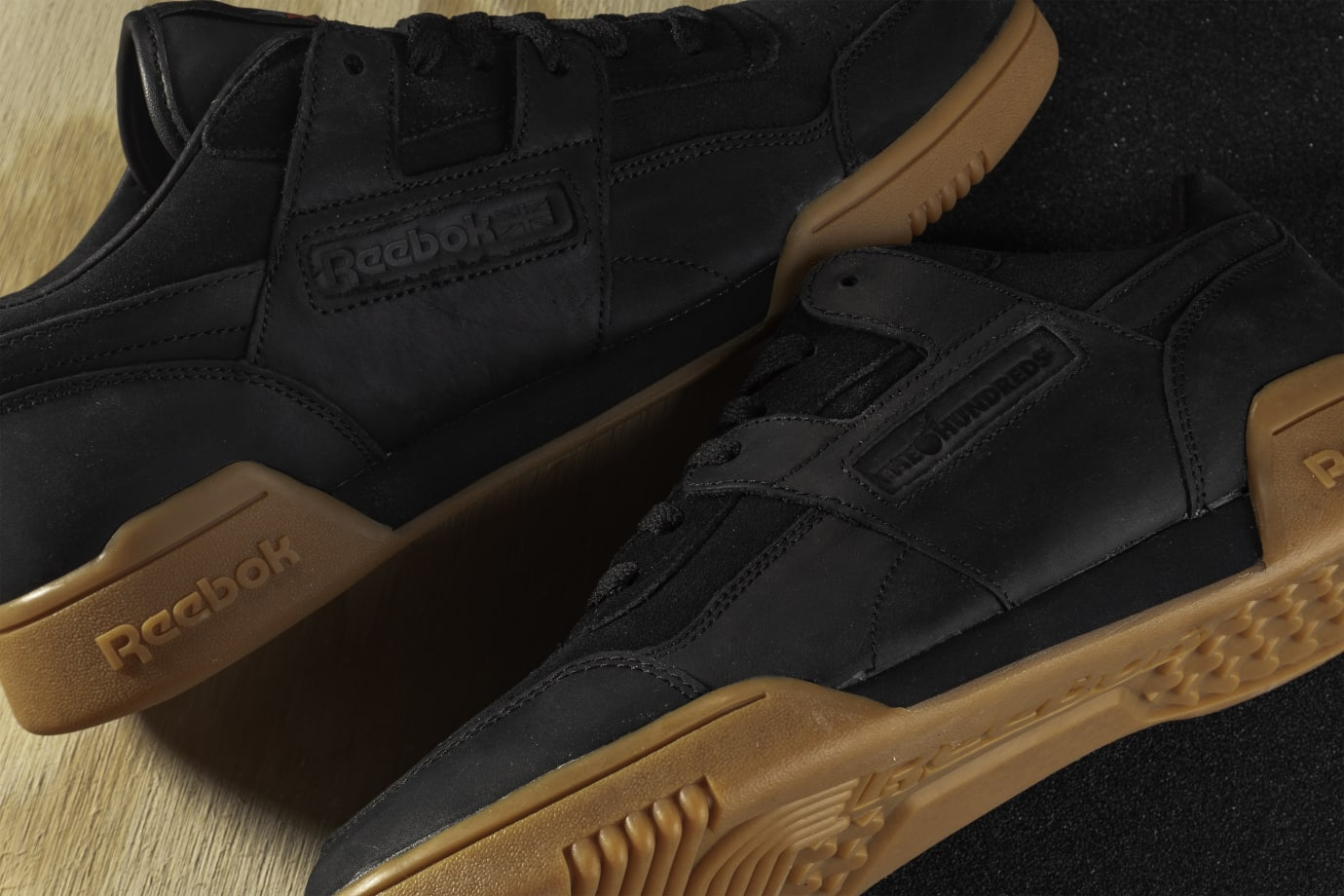 The Hundreds x Reebok Workout Plus (Detail)