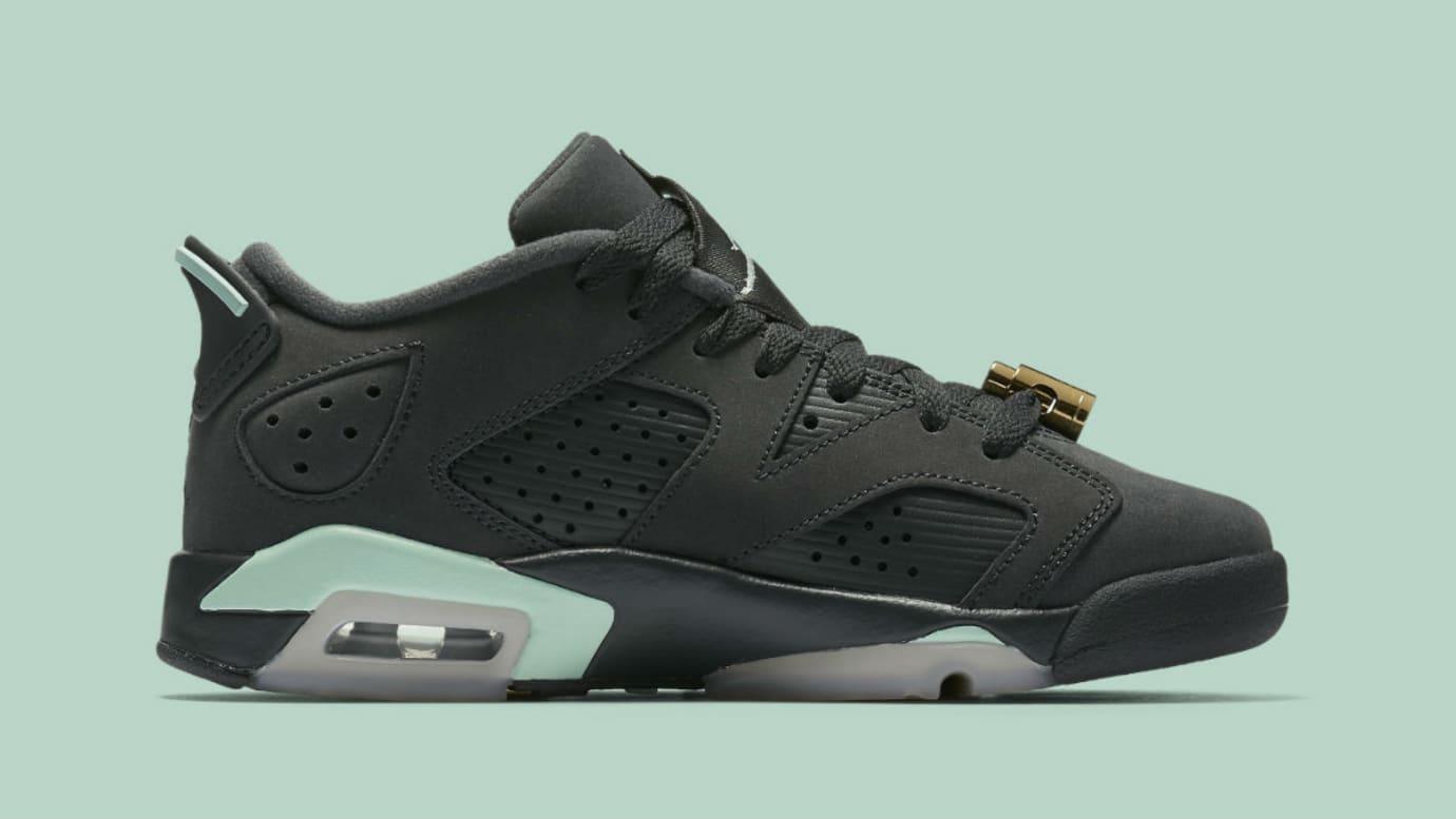 Air Jordan 6 Low Mint Foam Release Date Medial 768878-015