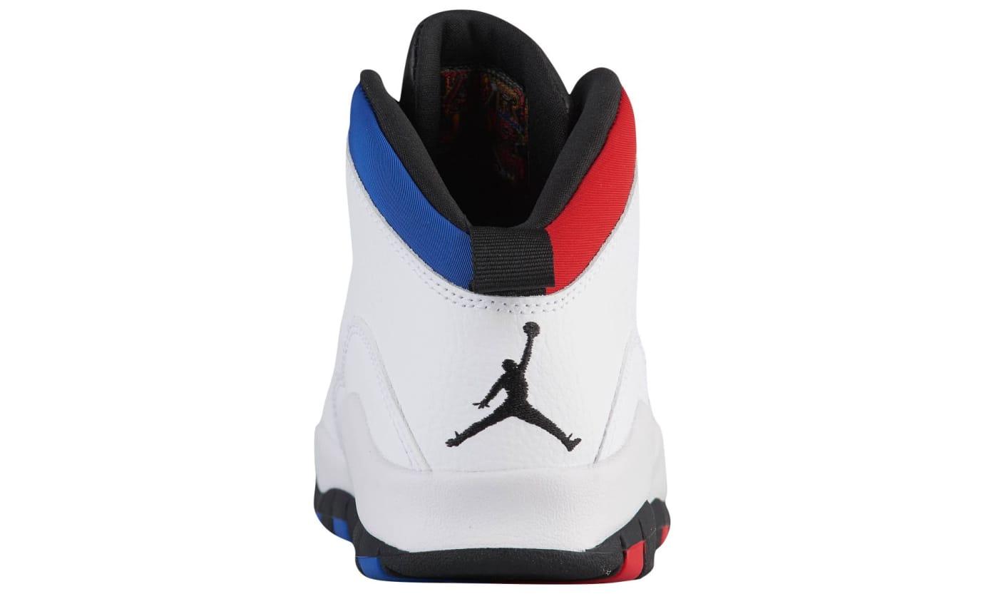 d3b8965b9fdd8a Image via Foot Locker Air Jordan 10 Westbrook  Olympians  (Heel)