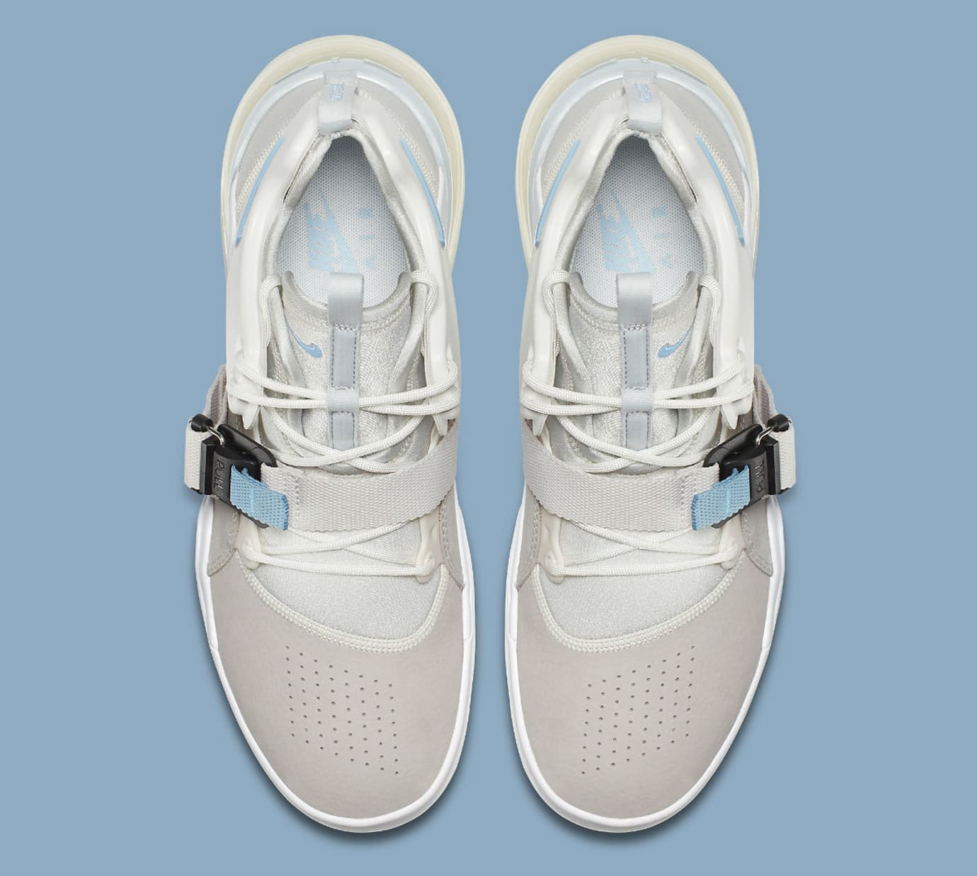 Nike Air Force 270 Wolf Grey White Release Date AH6772-003 Top