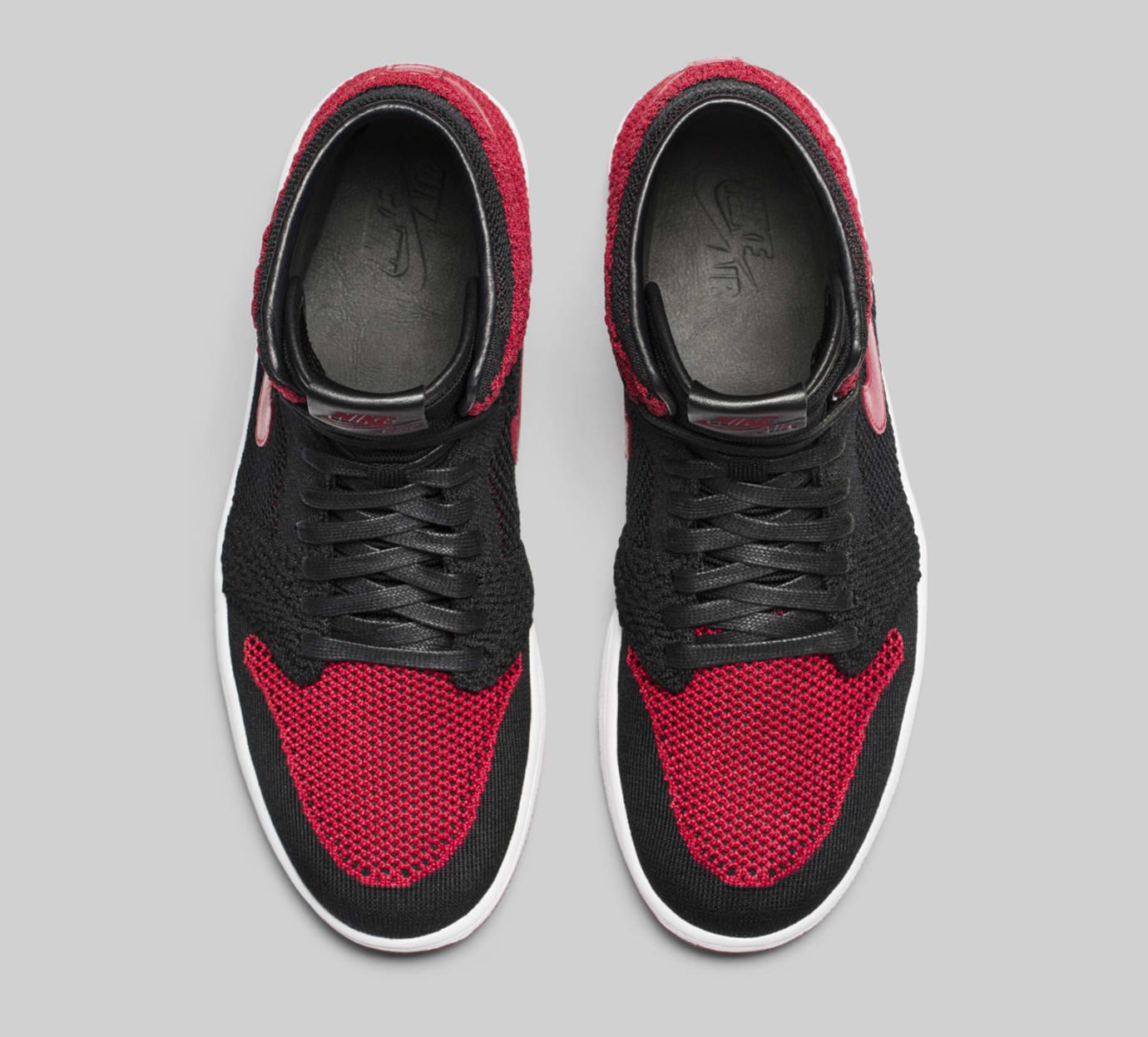 Banned Air Jordan 1 Flyknit 919704-001 Top