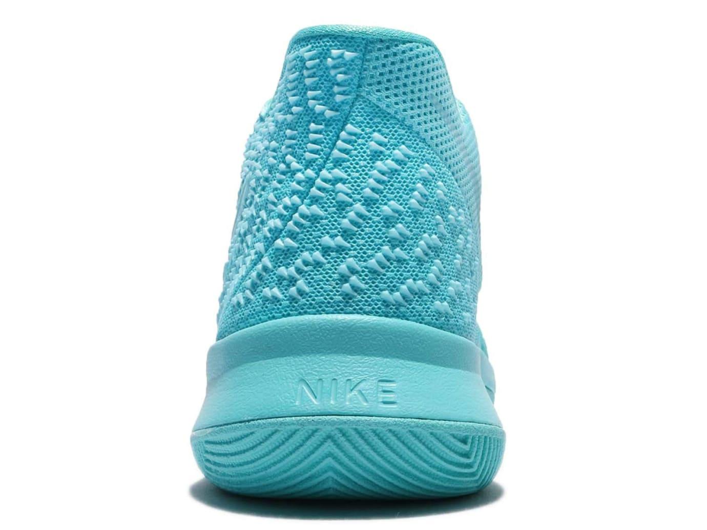 Nike Kyrie 3 GS Aqua Release Date Heel 859466-401