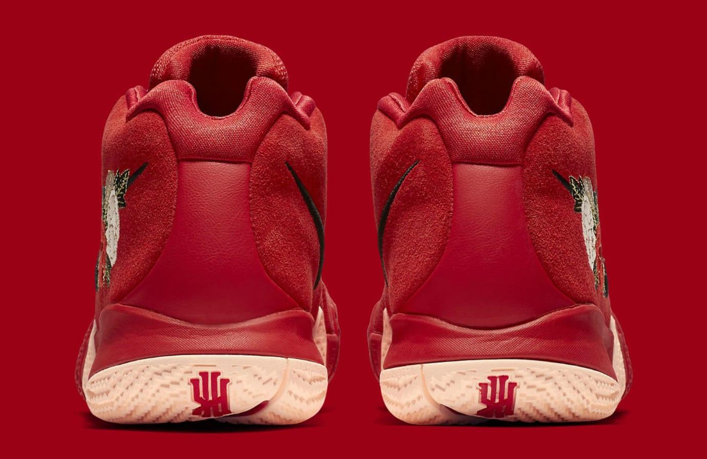 94c8daa3902636 Nike Kyrie 4 CNY Release Date 943807-600 Heel