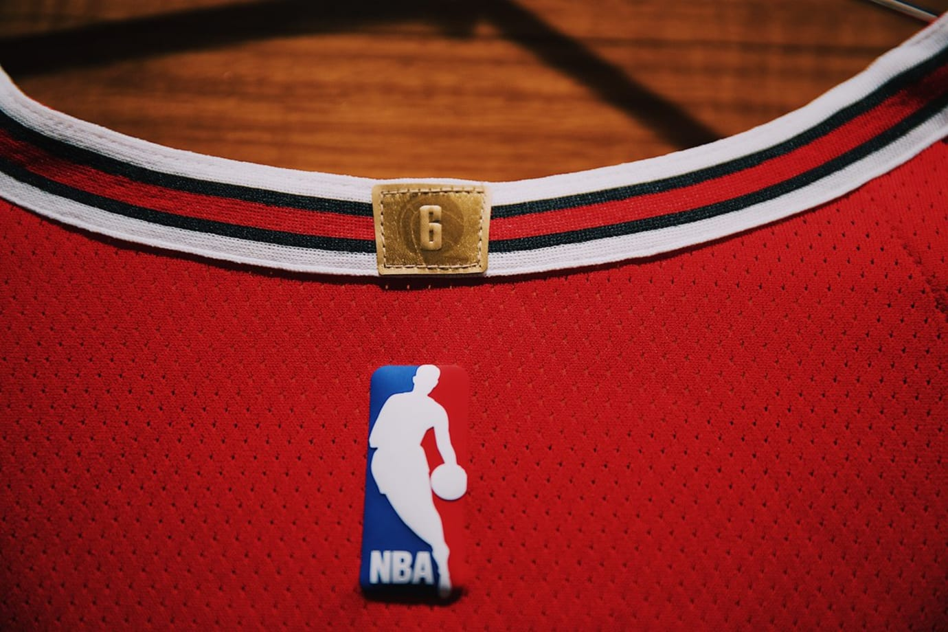 Chicago Bulls Nike Jersey Home Collar