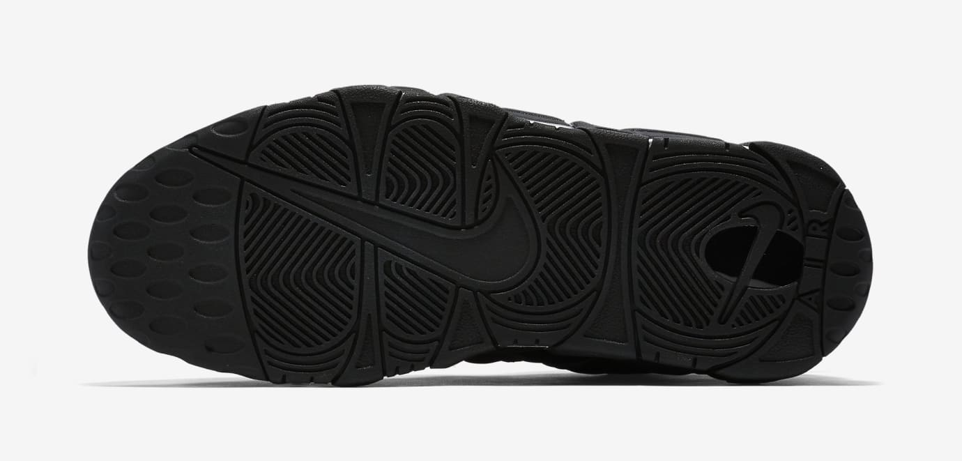 Nike Air More Uptempo Black Reflective 414962-004 Sole