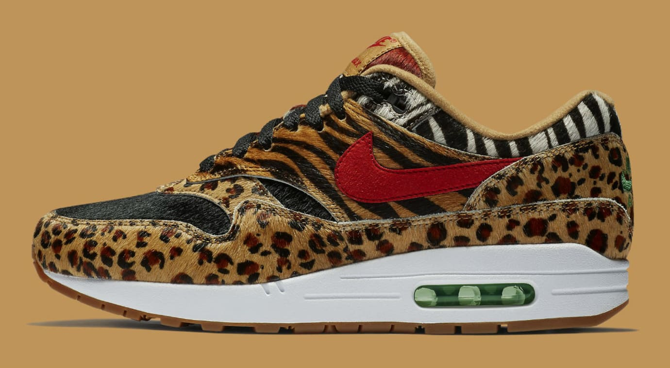 Atmos x Nike Air Max 1 Animal Pack Release Date AQ0928-700 Profile