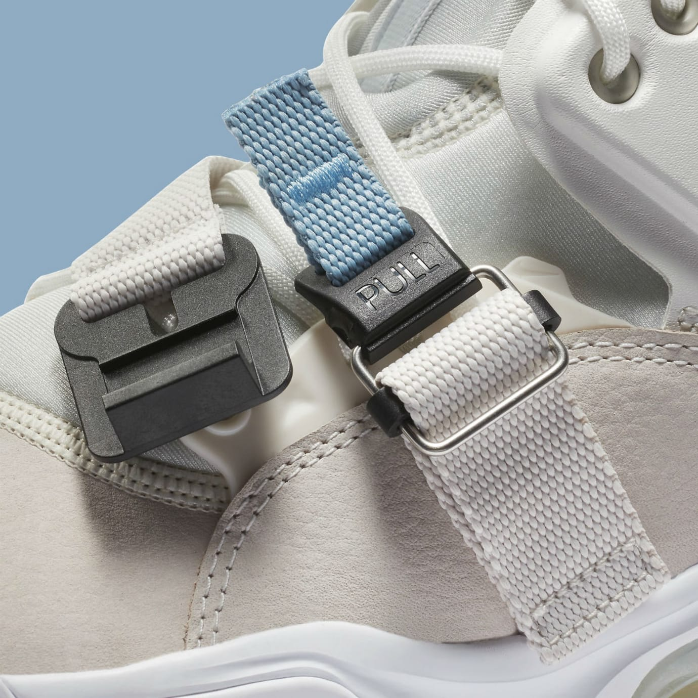 Nike Air Force 270 Wolf Grey White Release Date AH6772-003 Straps