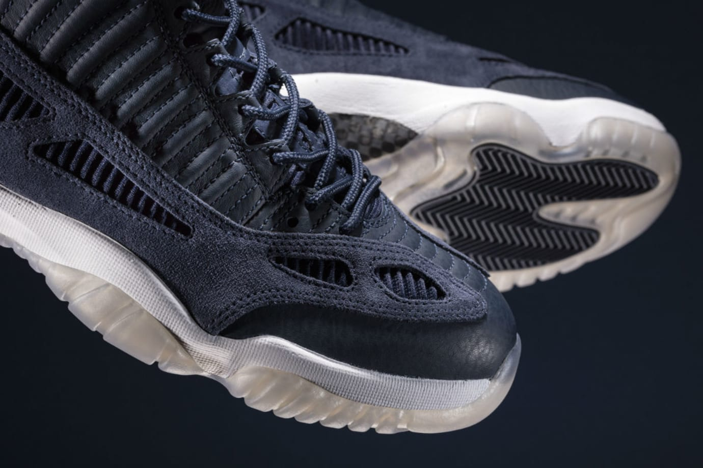 f3d8317ecbee Air Jordan 11 Low IE Midnight Navy Release Date 919712-400 (1 ...