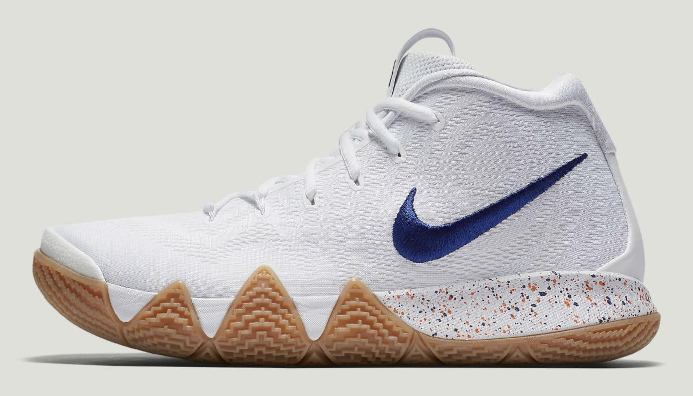 Nike Kyrie 4 Uncle Drew Release Date 943807-100 Profile