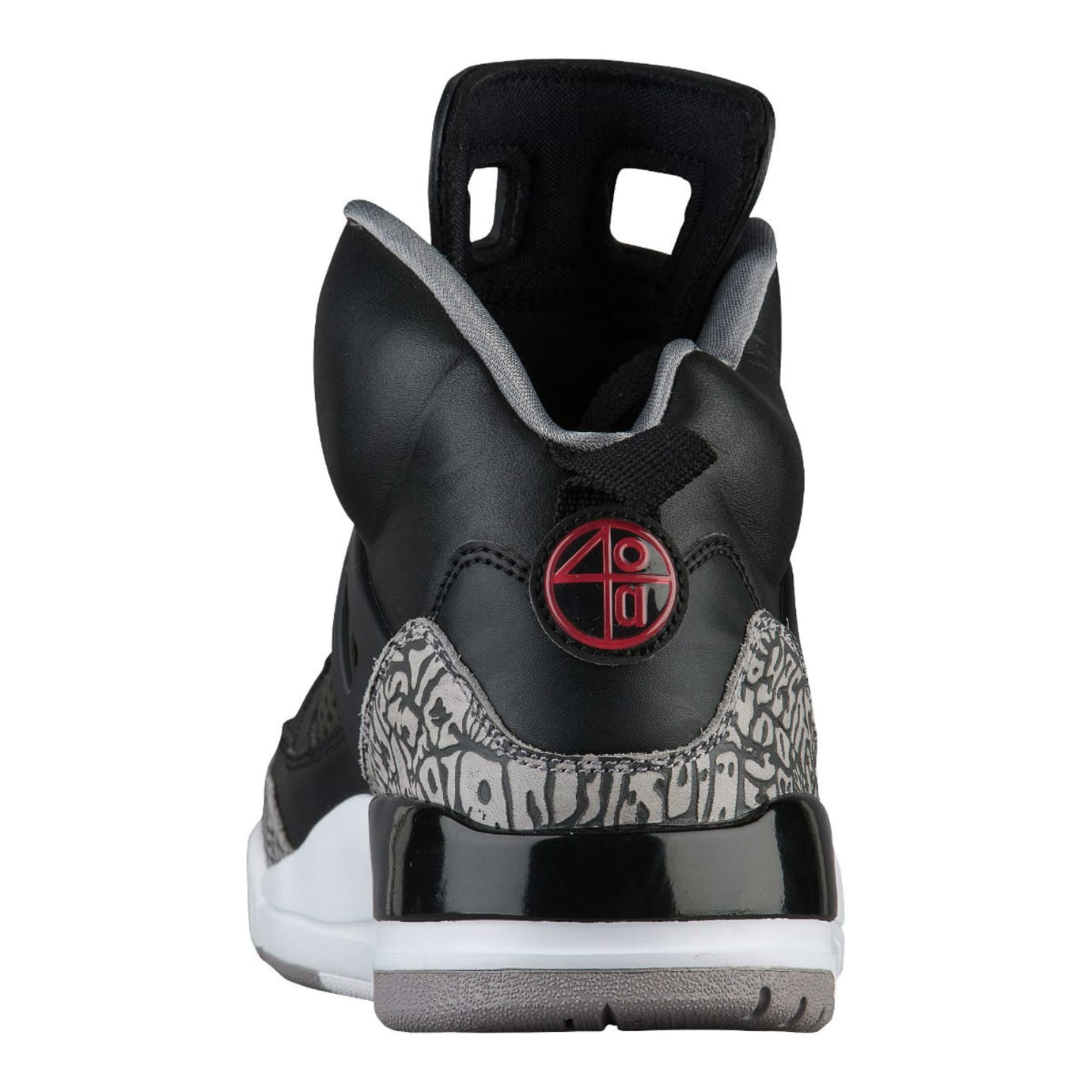 super popular 80b71 09946 Jordan Spizike Black Cement Release Date Heel 315371-034