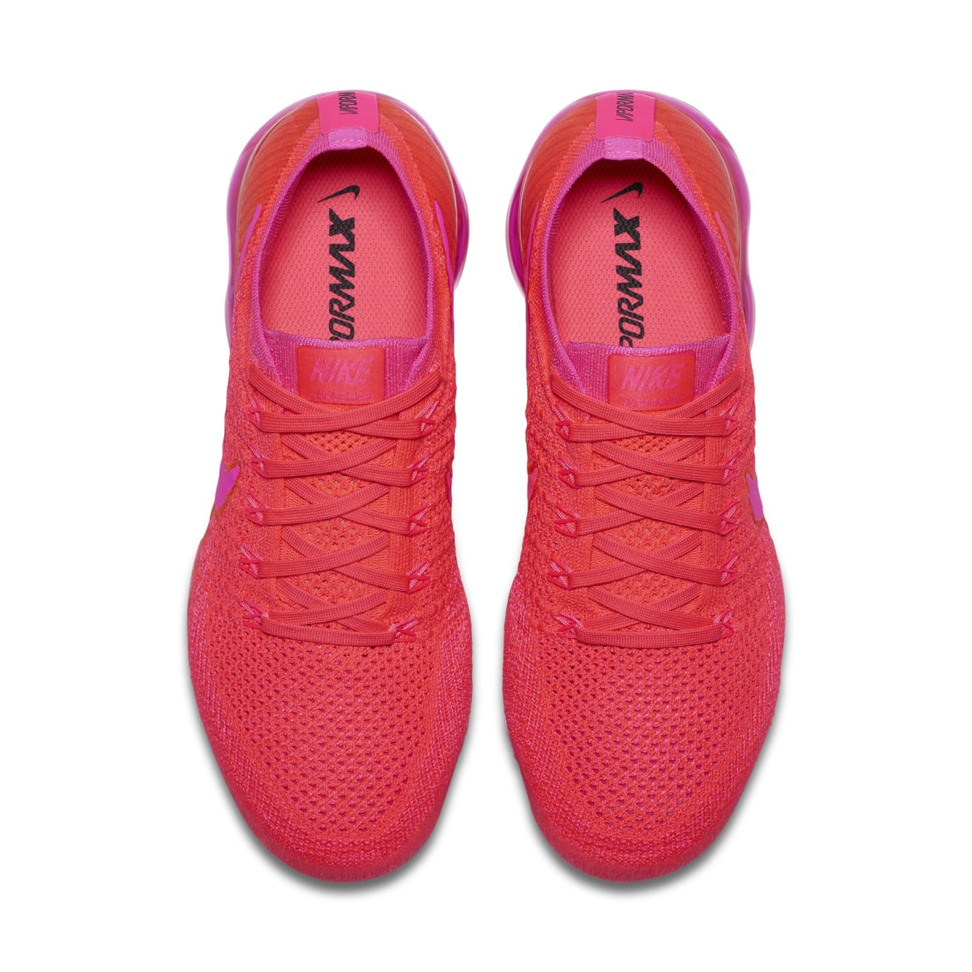 100% quality on sale skate shoes Nike Air Vapormax WMNS Bright Crimson/Hot Pink | Sole Collector