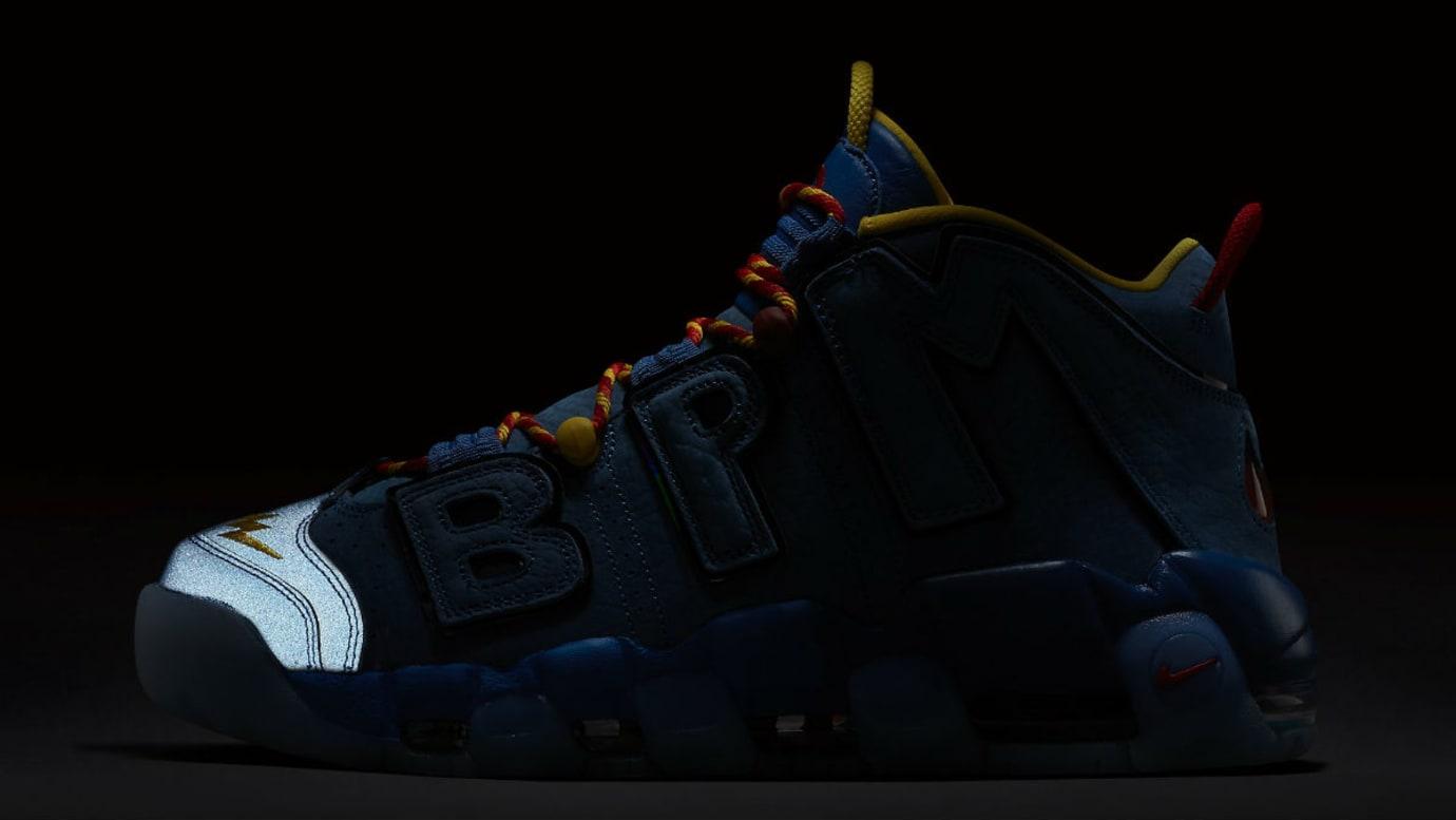 reputable site 7d865 047a3 Nike Air More Uptempo Doernbecher Release Date AH6949-446 3M