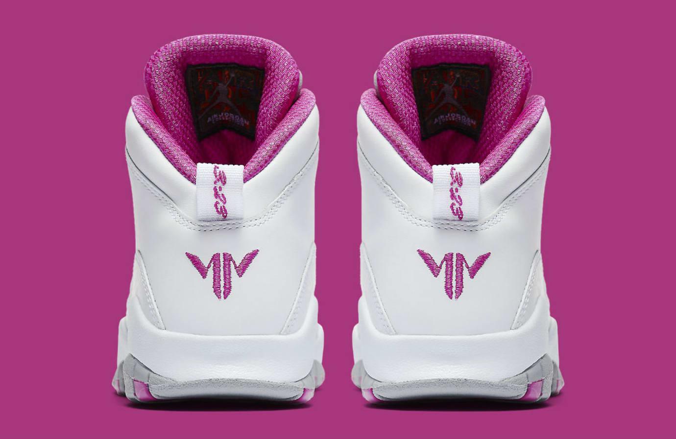 Air Jordan 10 X Maya Moore PE Release Date Heel AA2900-159