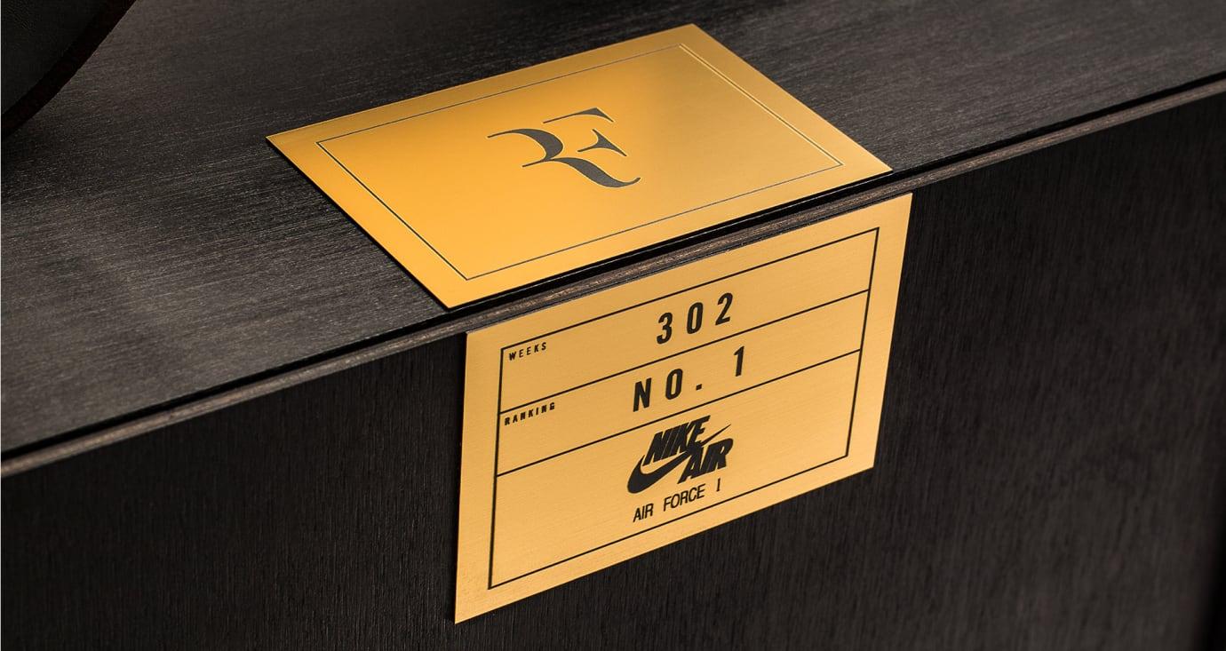 Nike Air Force 1 Federer Forever Label