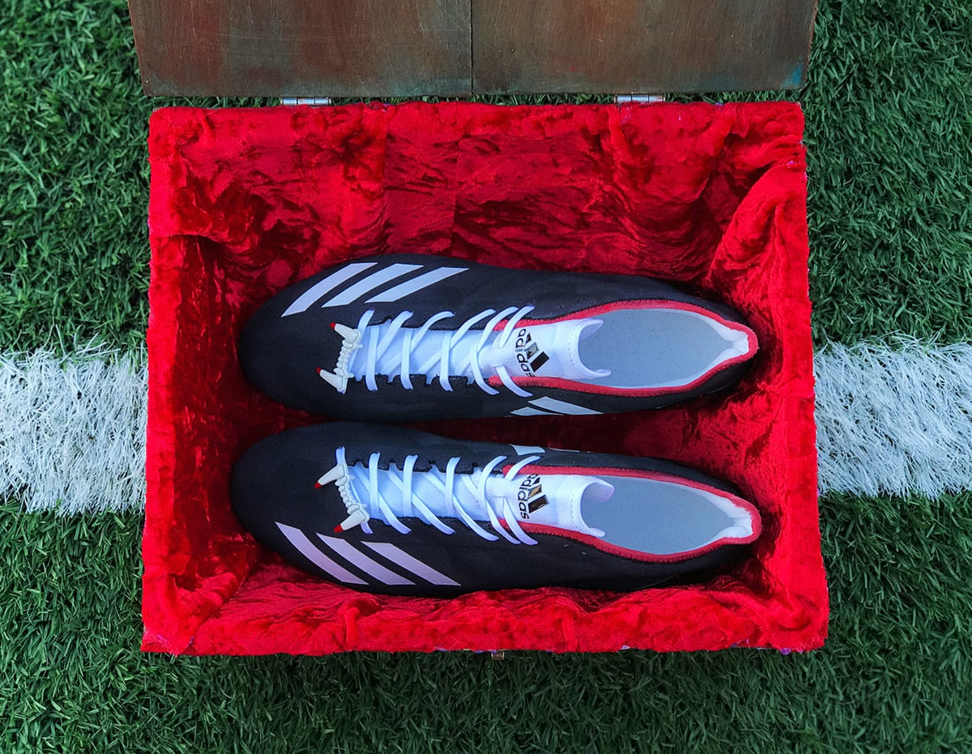 Adidas Adizero Josh Norman Halloween Cleats Top