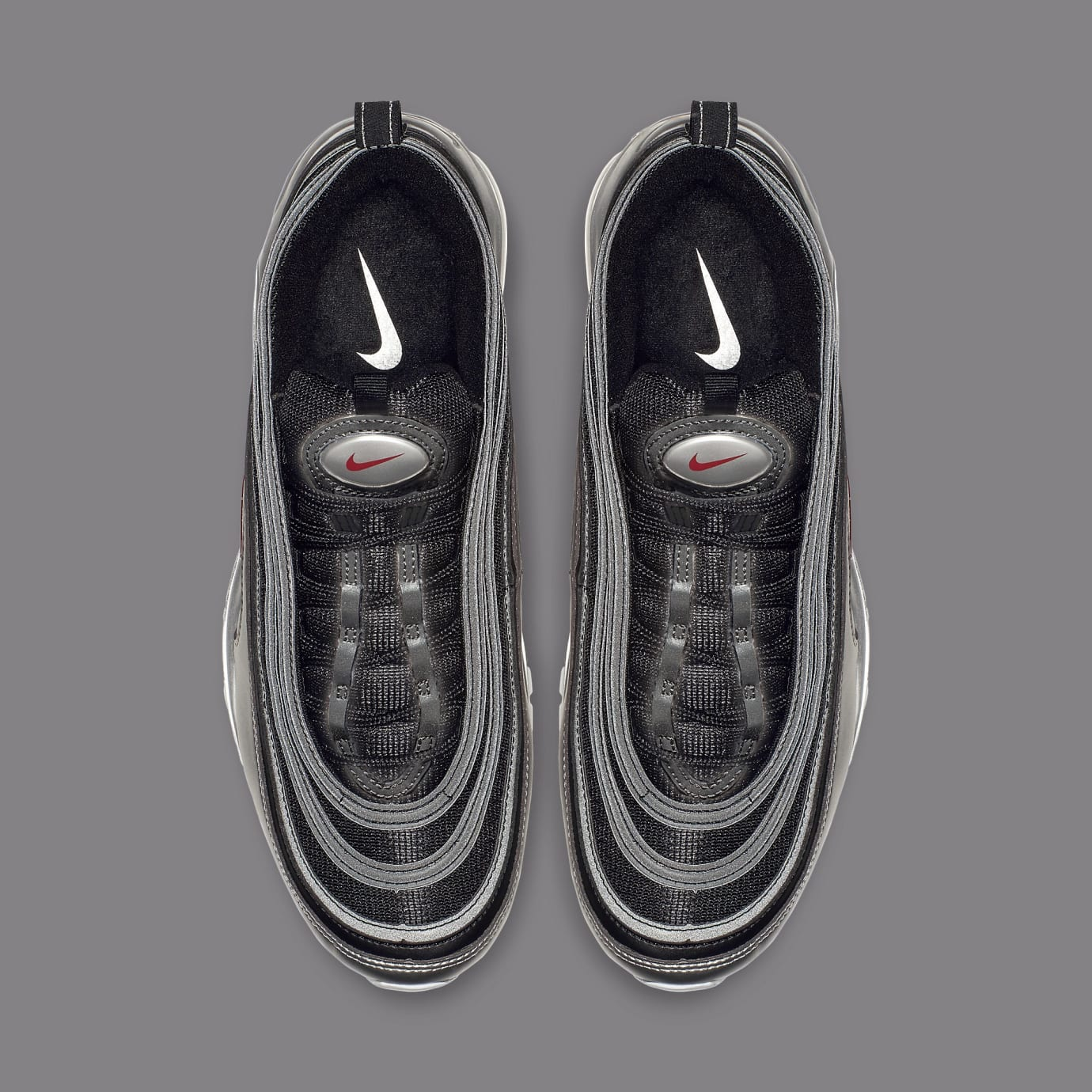 Nike Air Max 97 'Black/Metallic Silver' AT5458-001 (Top)