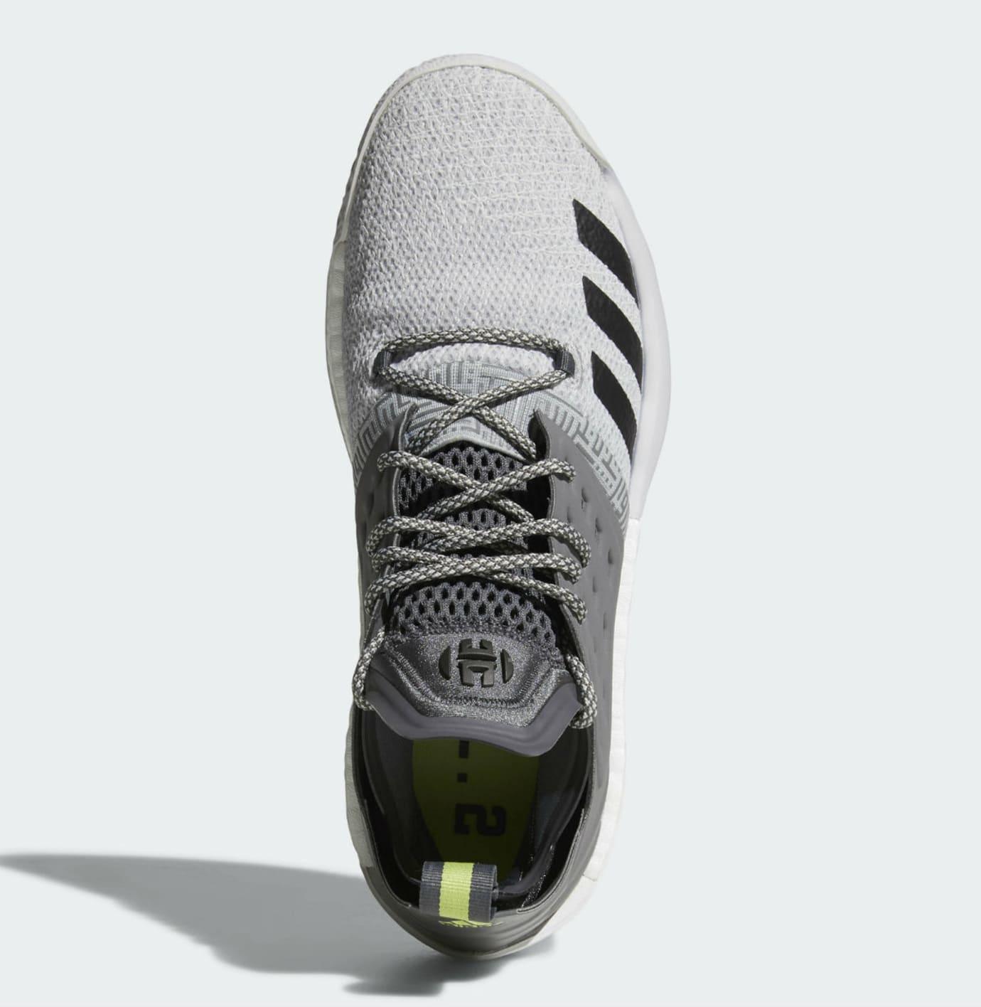3d93186337d2 Adidas Harden Vol. 2 Concrete Grey Release Date AH2122 Top