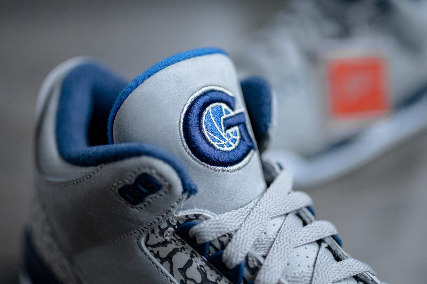 Air Jordan 3 'Georgetown' (Tongue)