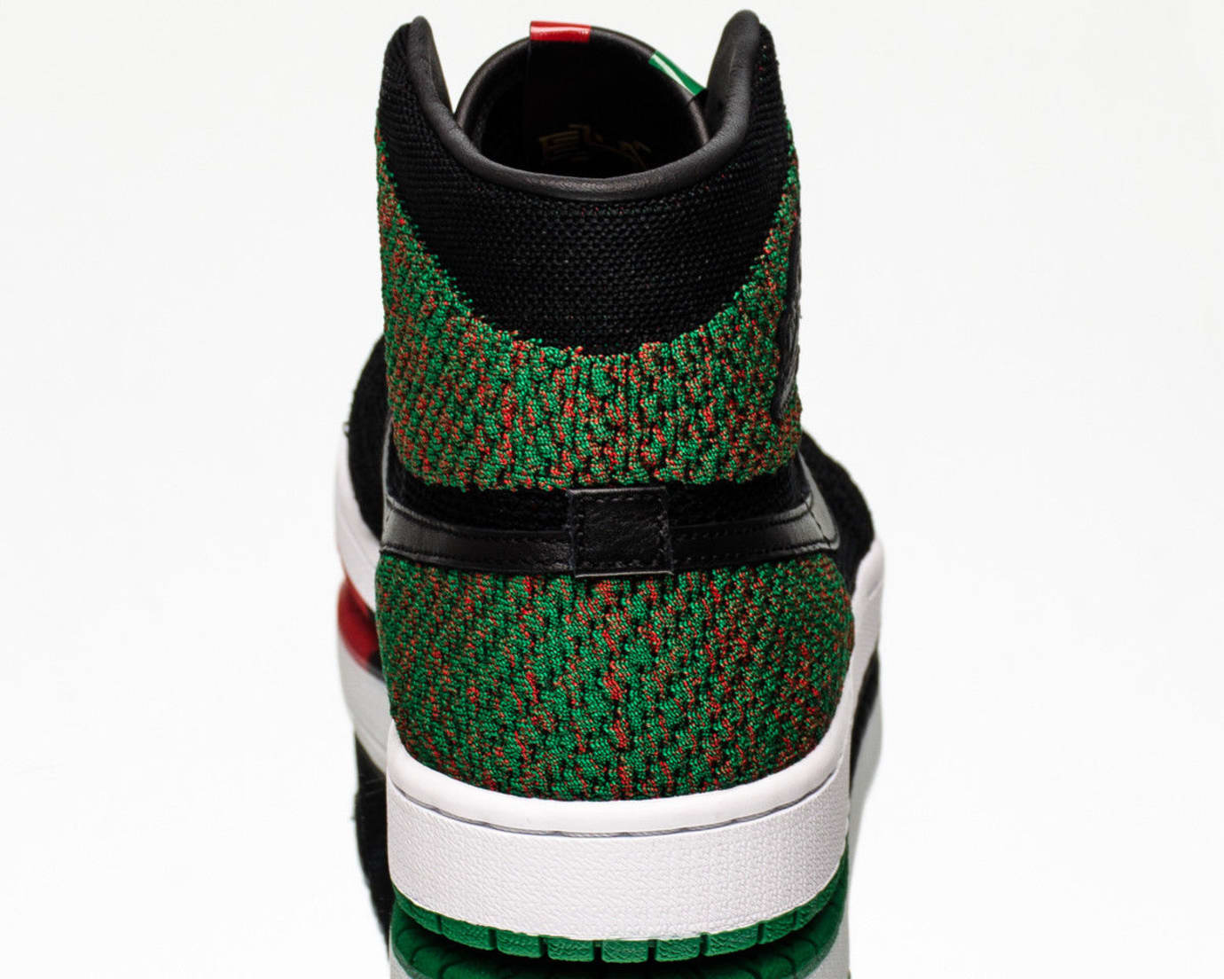 BHM Air Jordan 1 Flyknit AA2426-026 Release Date Heel