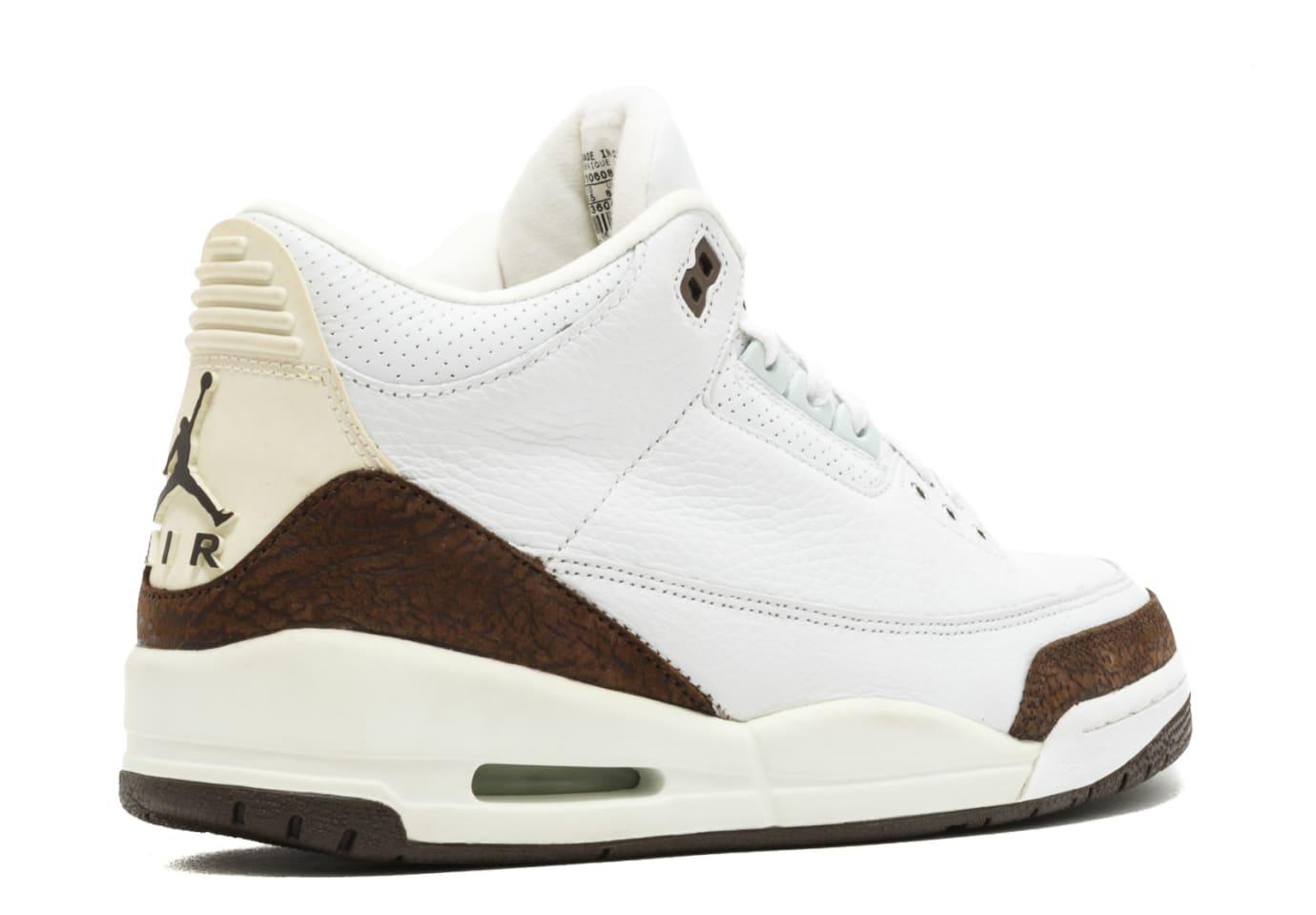 Air Jordan 3 Mocha Heel