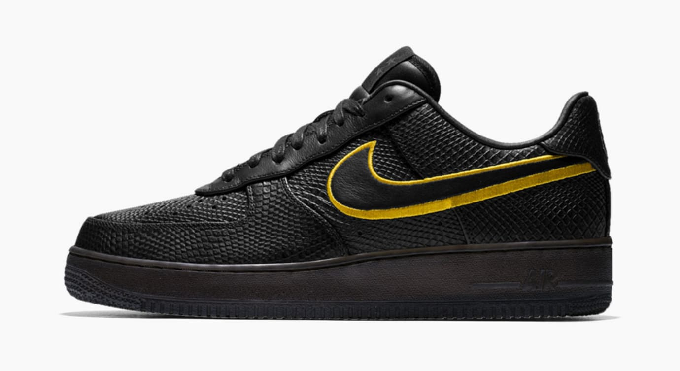 Nike Kobe Air Force 1 Black Mamba Profile