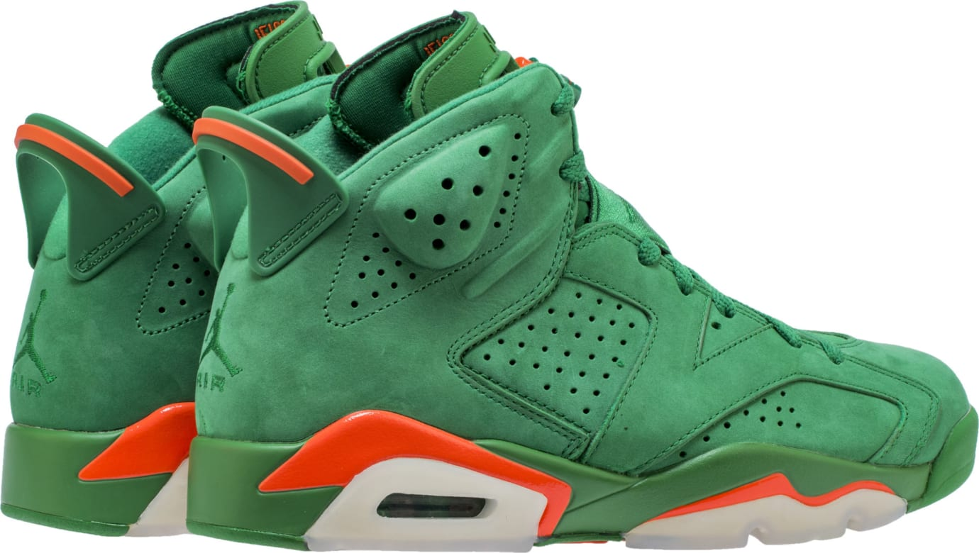 Air Jordan 6 VI Gatorade Green Release Date AJ5986-335 Heel 8563db469