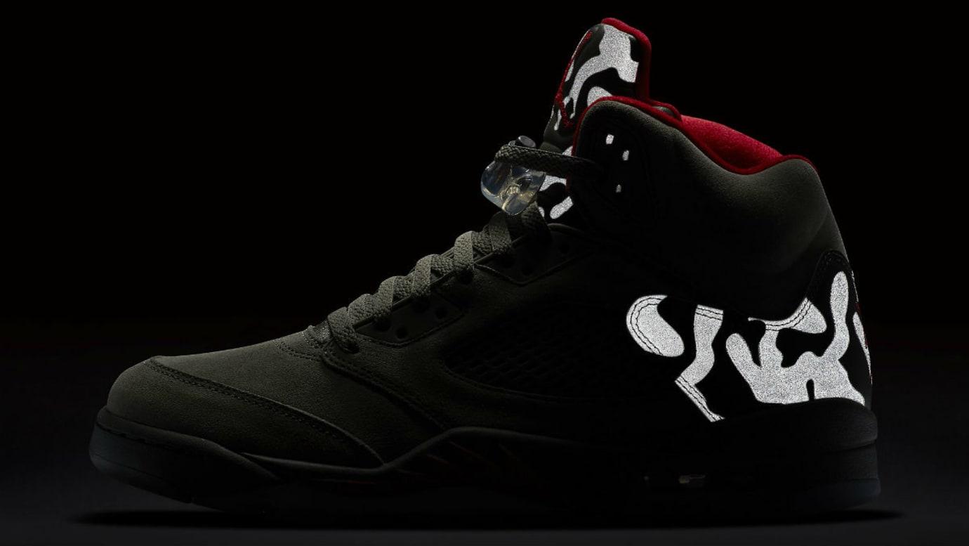 Air Jordan 5 Camo Release Date 3M 136027-051