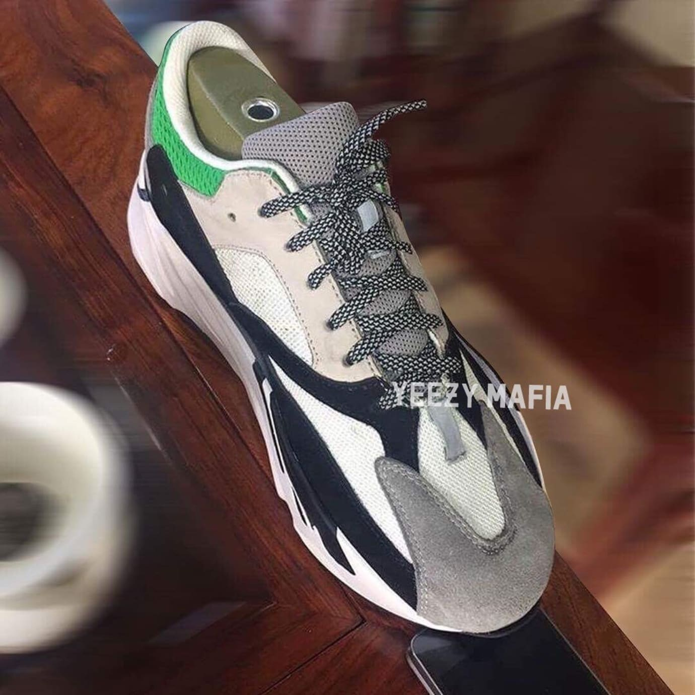 Adidas Yeezy Boost 700 Tan Green Front