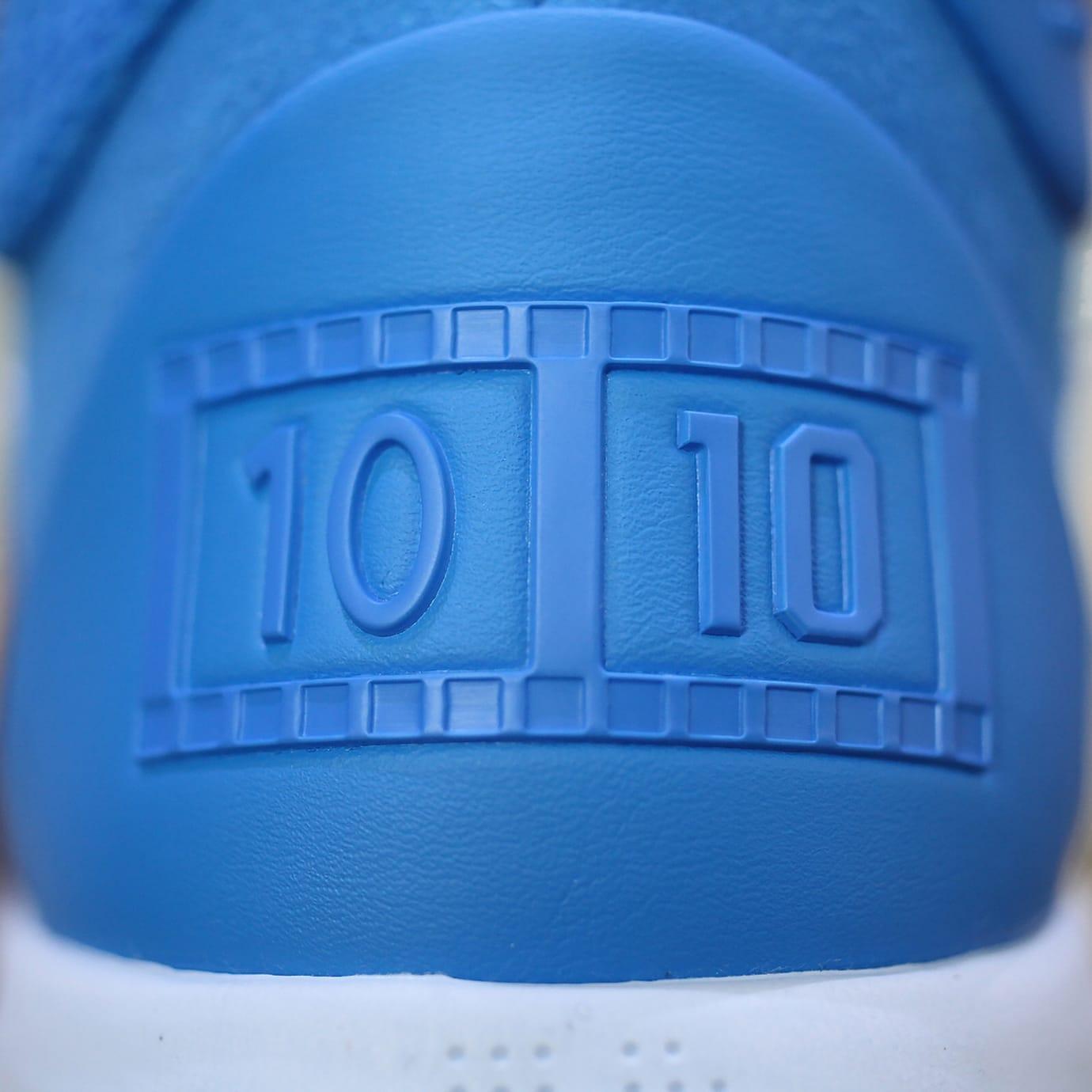 Nike Kobe A.D. Mid DeMar DeRozan PE Release Date Heel Detail 35674d22b