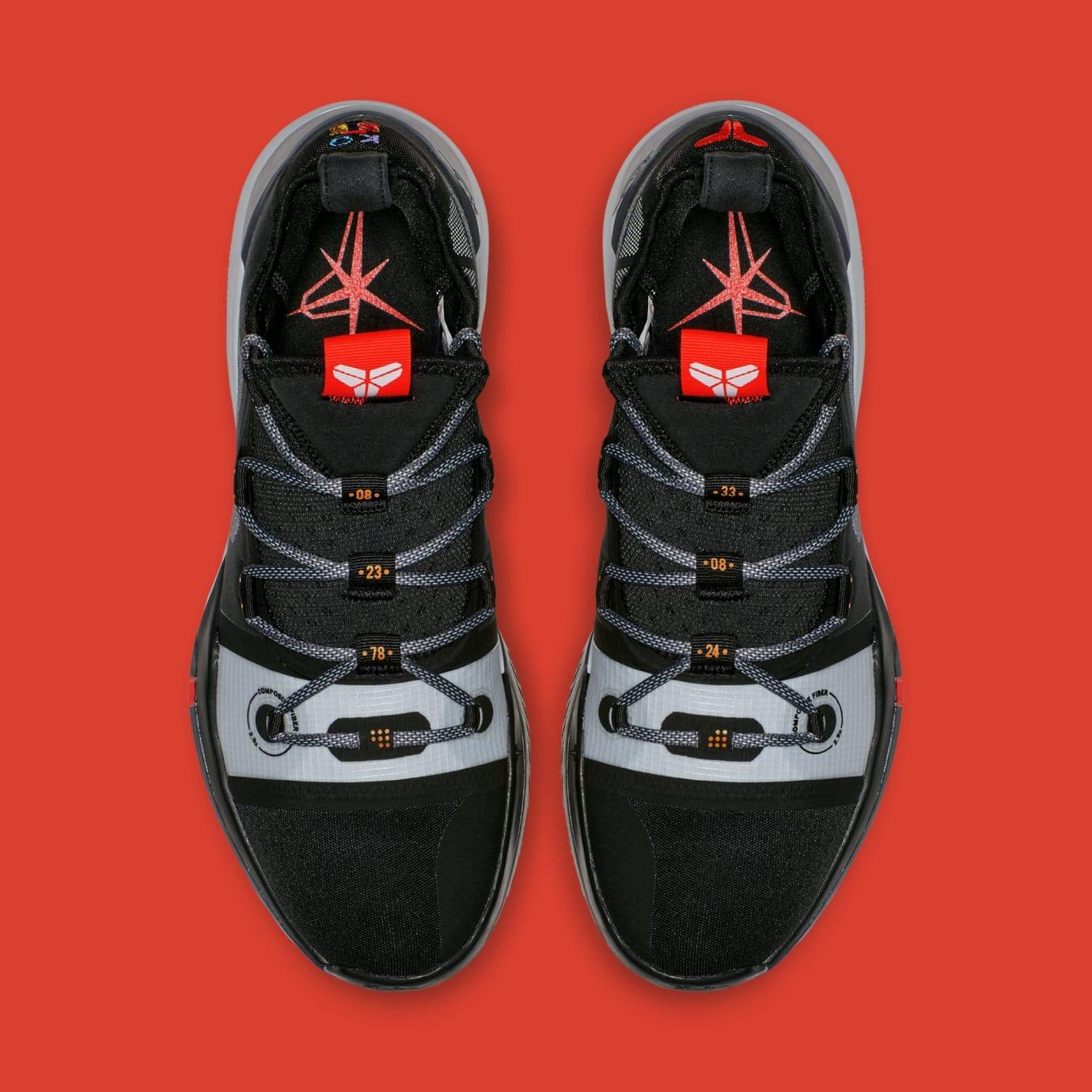 bc61b3717a51 Image via Nike Nike Kobe AD  Black Multi  AV3555-001 (Top)