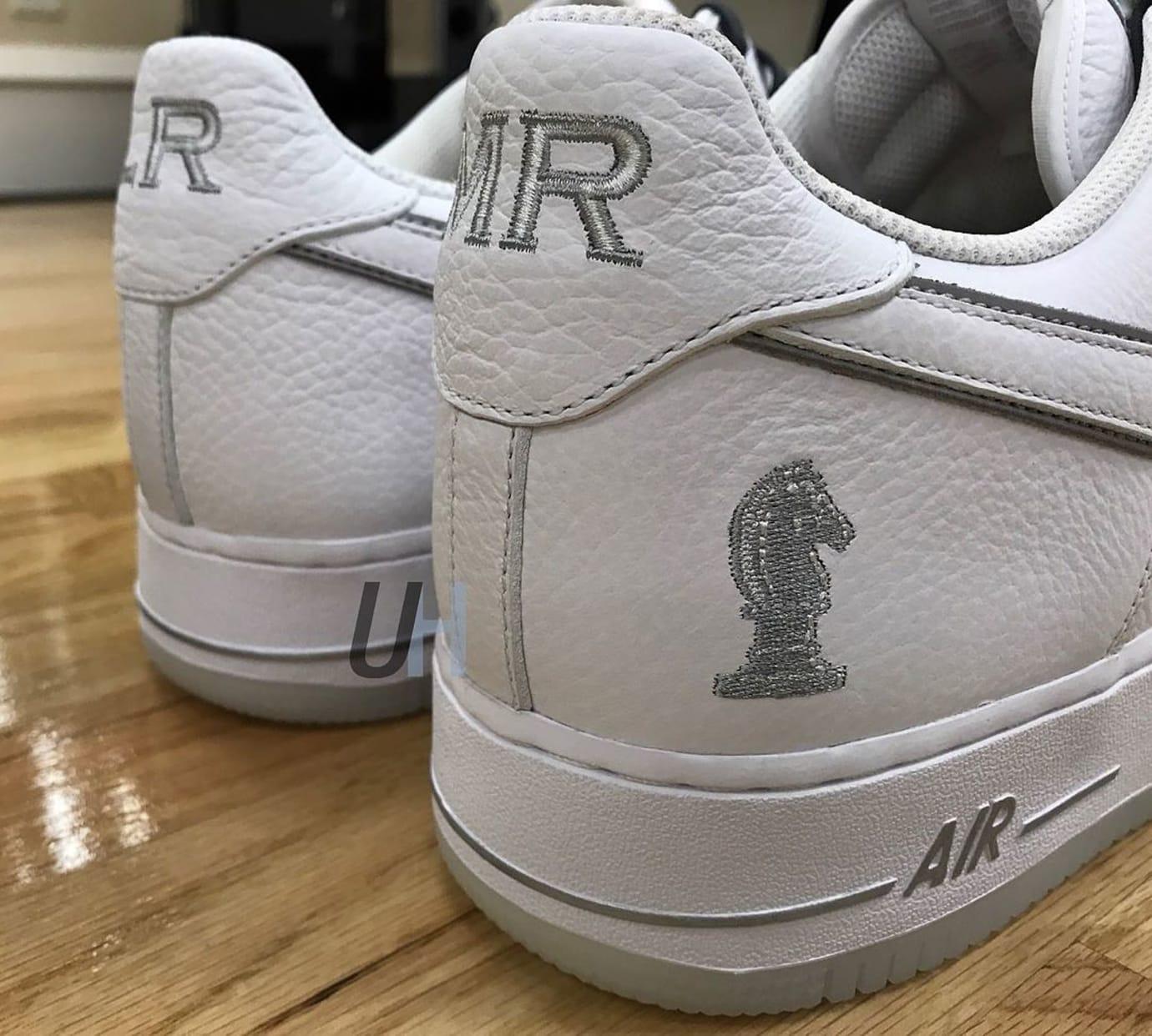 Nike Air Force 1 Low LeBron James 4 Horsemen Right Heel