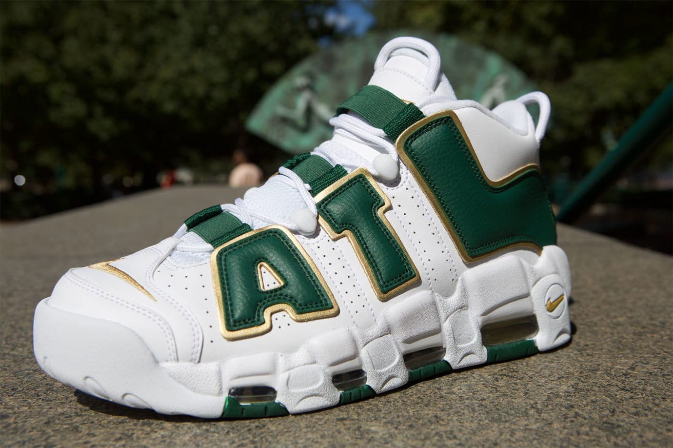 Nike Air More Uptempo Atlanta Release Date AJ3139-100 Profile