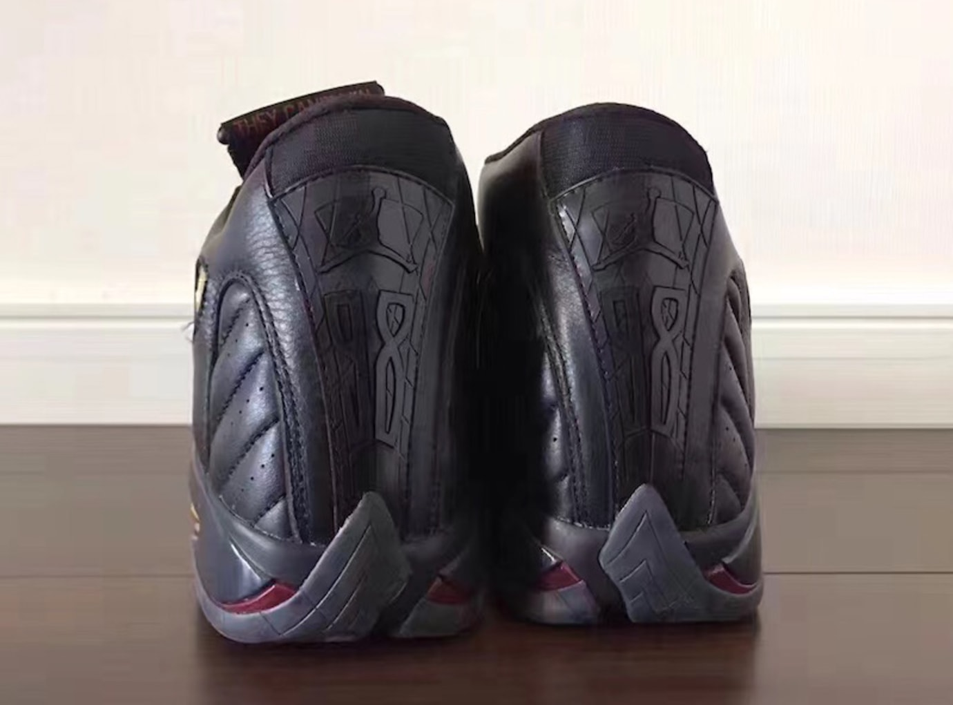 best sneakers 90b9d f1730 Air Jordan 14 Defining Moments Black Gold Release Date 487471-022 (6)