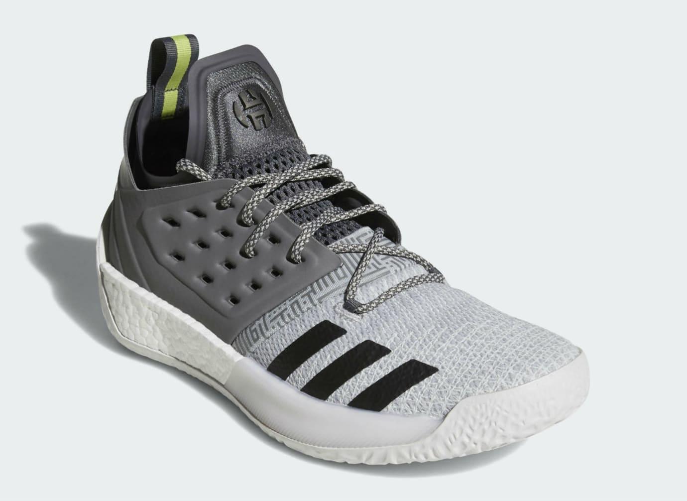 Adidas Harden Vol. 2 Concrete Grey Release Date AH2122 Front