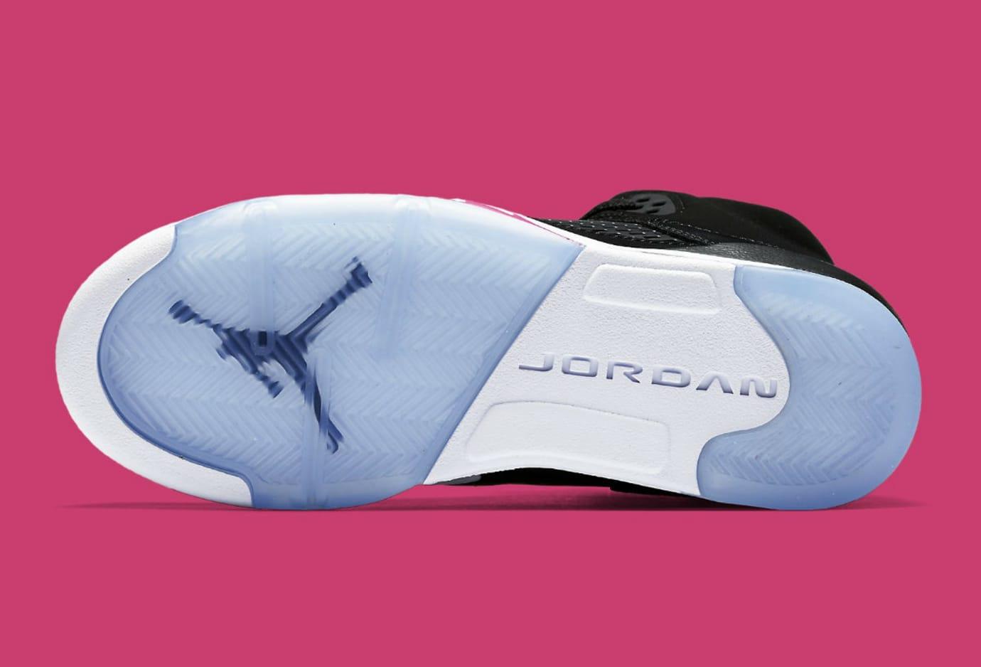 dc29b917558c3e Air Jordan 5 GS Deadly Pink Release Date Sole 440892-029
