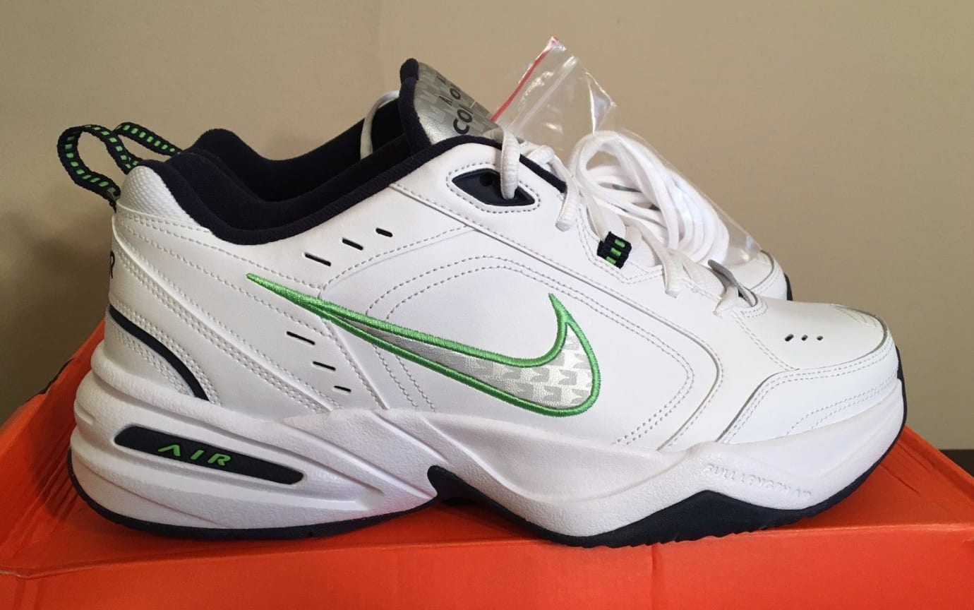 Pete Carroll Nike Air Monarch Dad Shoes | Sole Collector