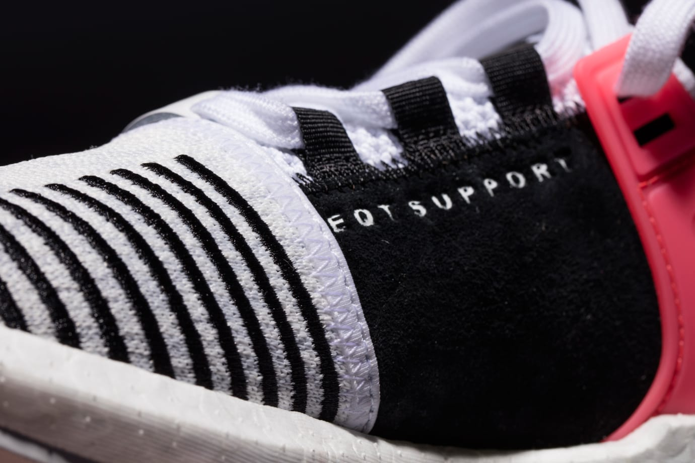 Adidas EQT Support 93-17 White Black Turbo Red Medial