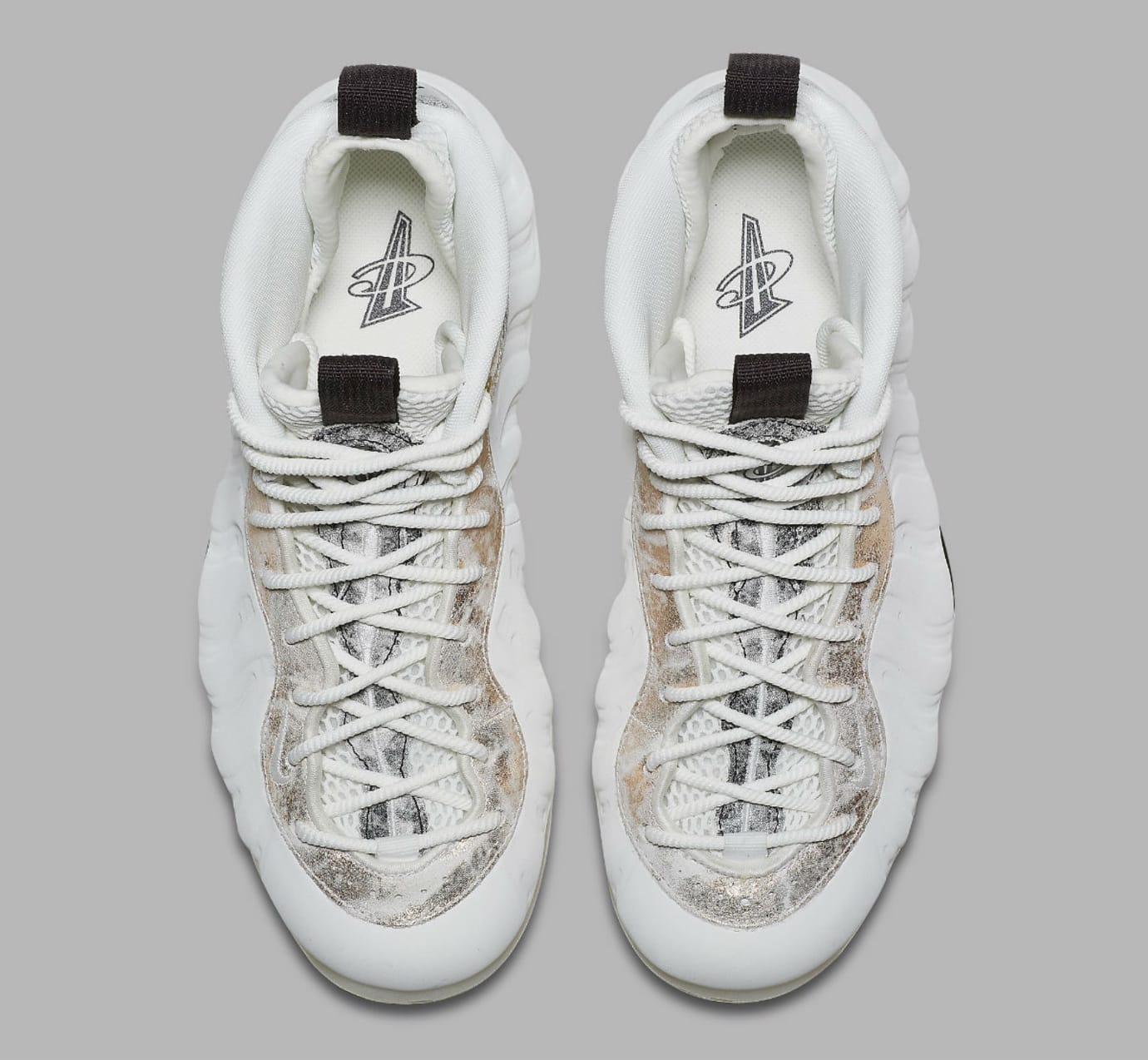 Image via Nike Nike Air Foamposite One Women s Summit White Oil Grey  Rainforest Release Date AA3963-101 Top a7de418d0d