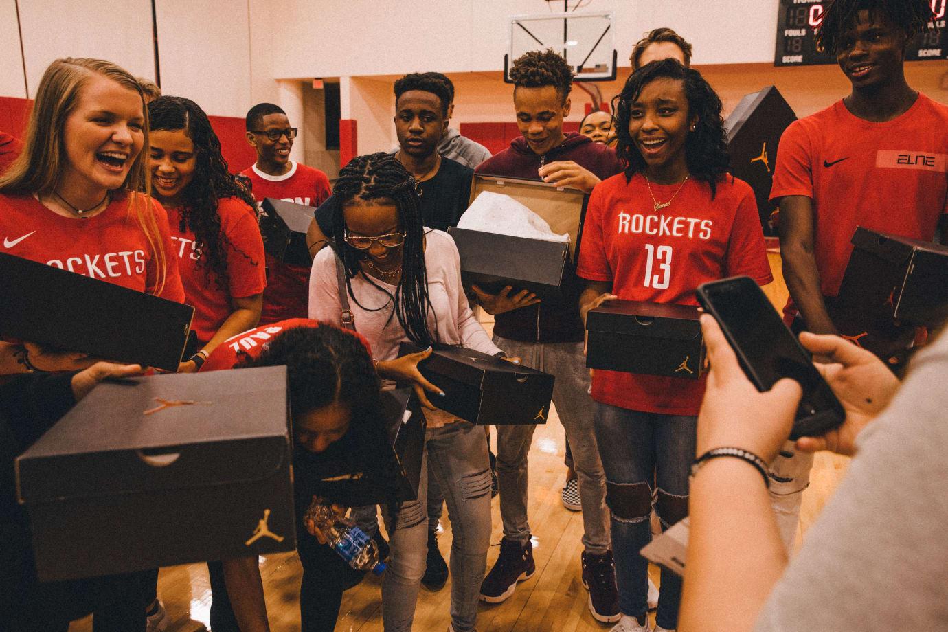 Patricia E. Paetow High School Students React to Jordan CP3.XI Sneakers