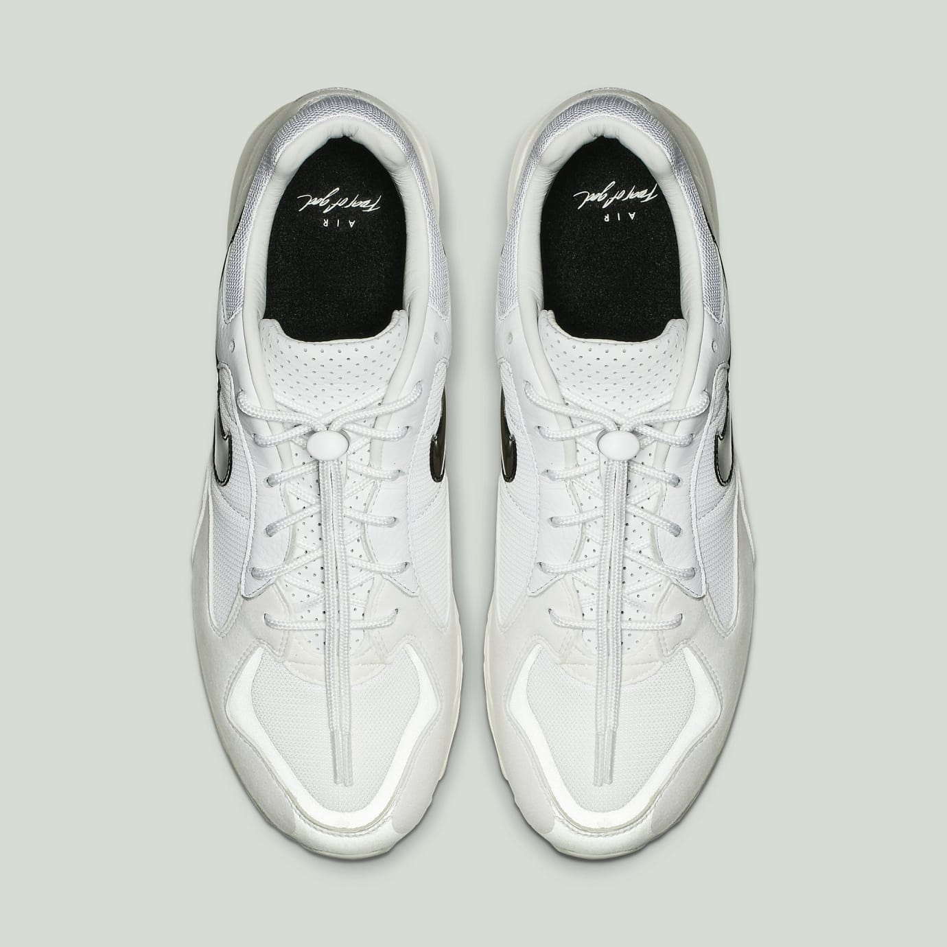 Fear of God x Nike Air Skylon 2 'White/Black-Light Bone-Sail' BQ2752-100 (Top)